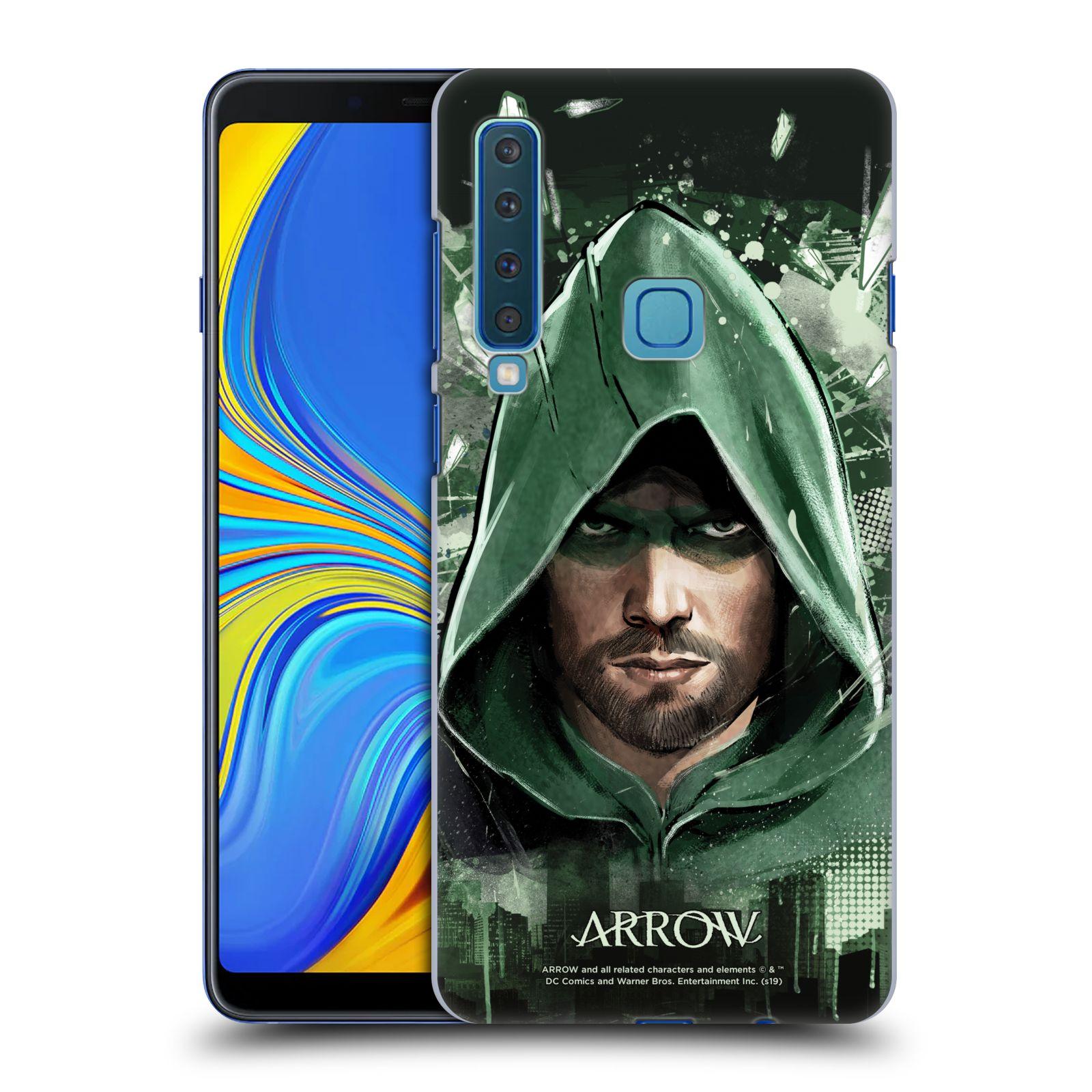 Pouzdro na mobil Samsung Galaxy A9 2018 - HEAD CASE - Seriál Arrow - kreslený motiv