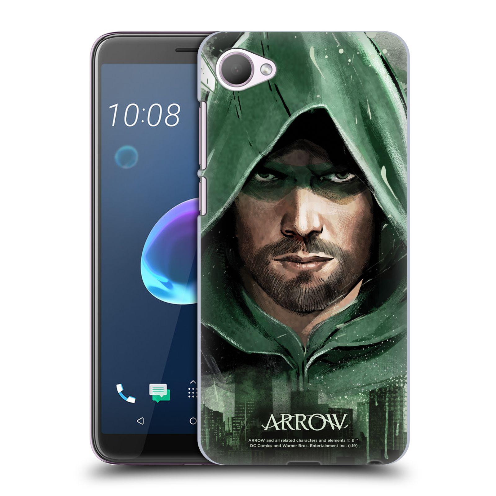 Pouzdro na mobil HTC Desire 12 / Desire 12 DUAL SIM - HEAD CASE - Seriál Arrow - kreslený motiv