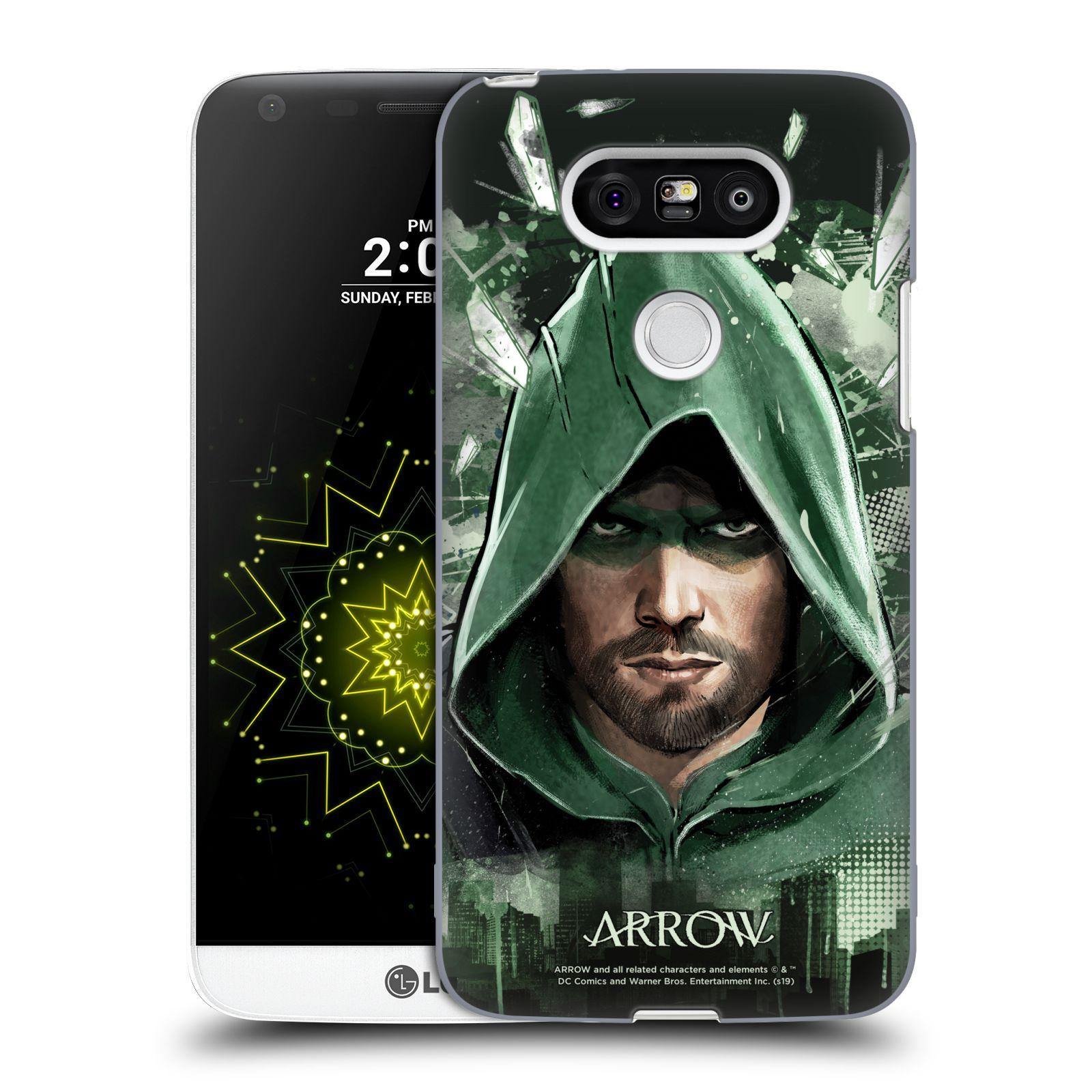 Pouzdro na mobil LG G5 - HEAD CASE - Seriál Arrow - kreslený motiv