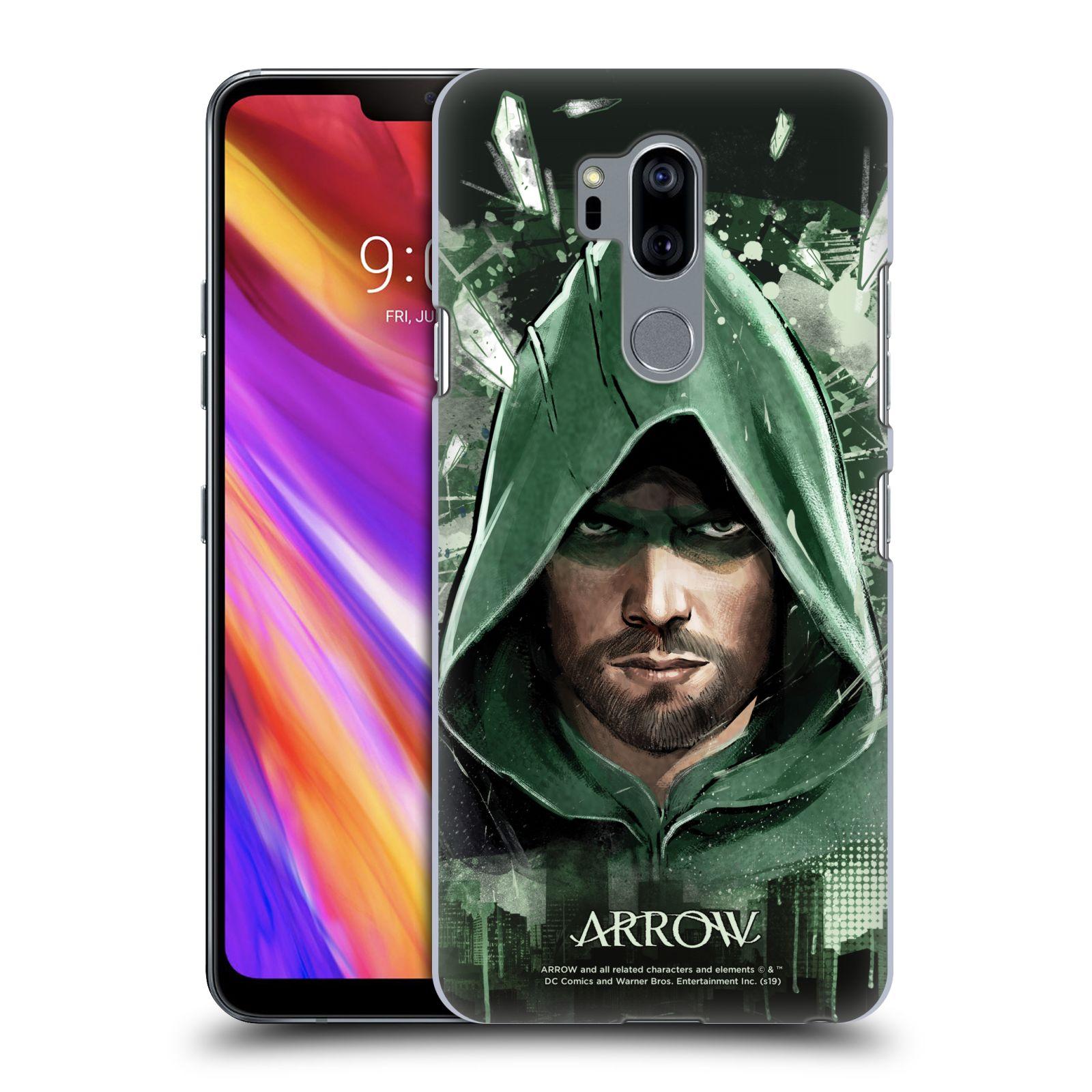 Pouzdro na mobil LG G7  ThinQ - HEAD CASE - Seriál Arrow - kreslený motiv