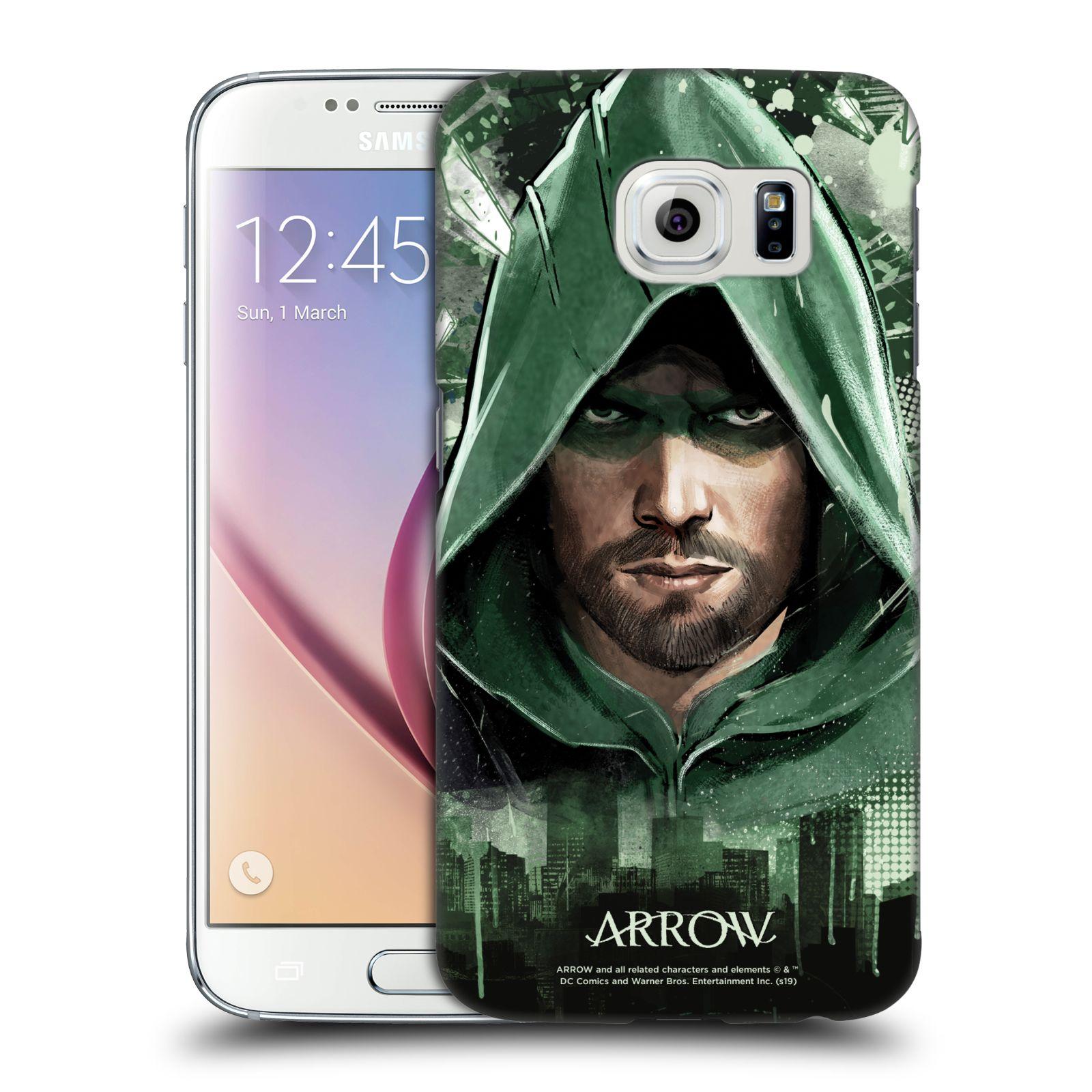 Pouzdro na mobil Samsung Galaxy S6 - HEAD CASE - Seriál Arrow - kreslený motiv