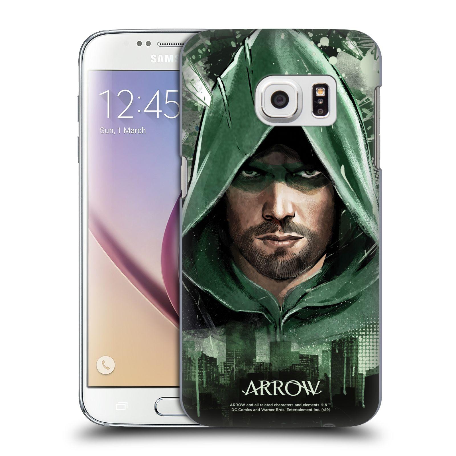 Pouzdro na mobil Samsung Galaxy S7 - HEAD CASE - Seriál Arrow - kreslený motiv