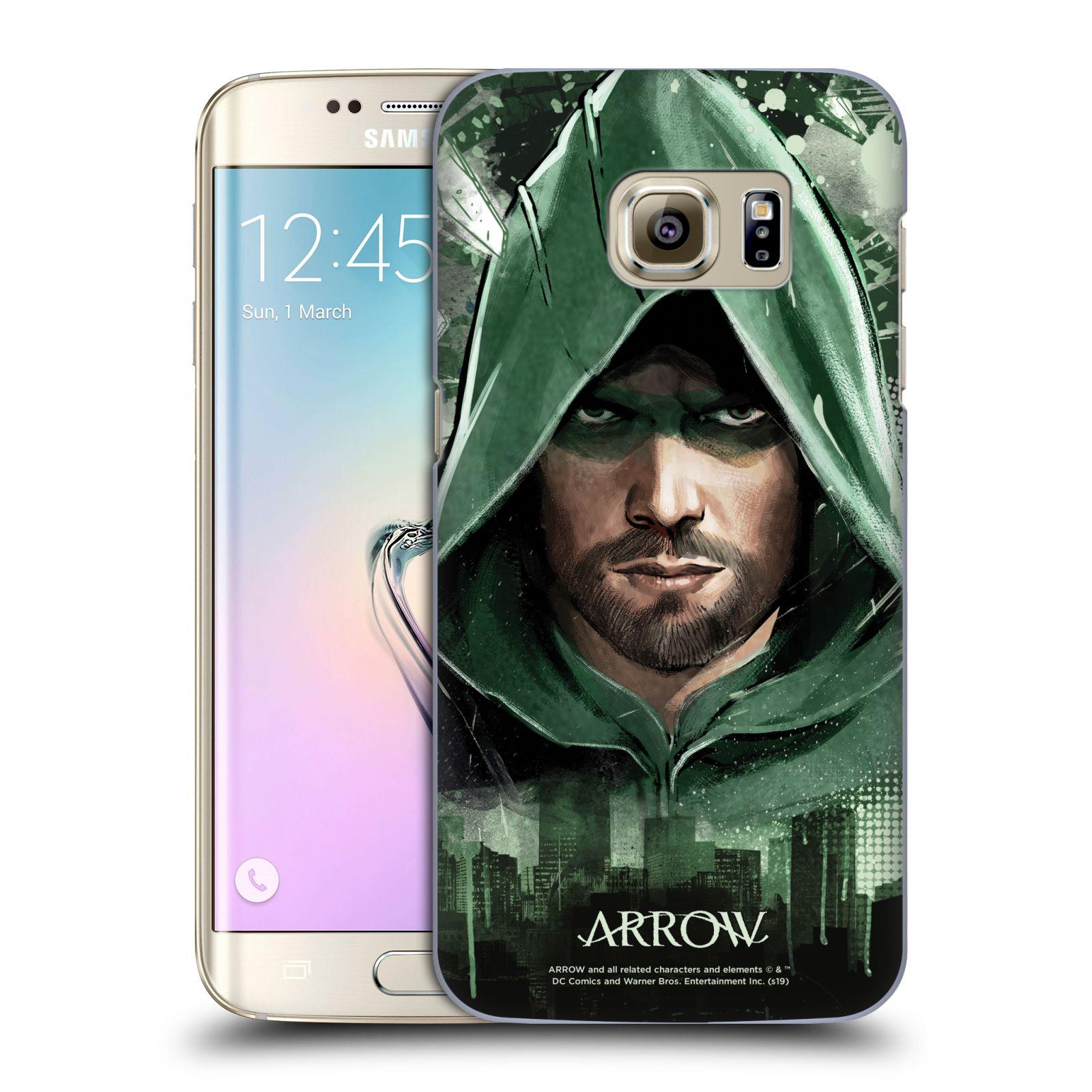 Pouzdro na mobil Samsung Galaxy S7 EDGE - HEAD CASE - Seriál Arrow - kreslený motiv