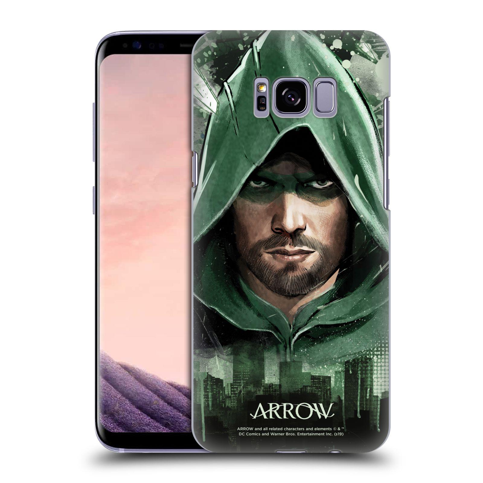 Pouzdro na mobil Samsung Galaxy S8 PLUS - HEAD CASE - Seriál Arrow - kreslený motiv