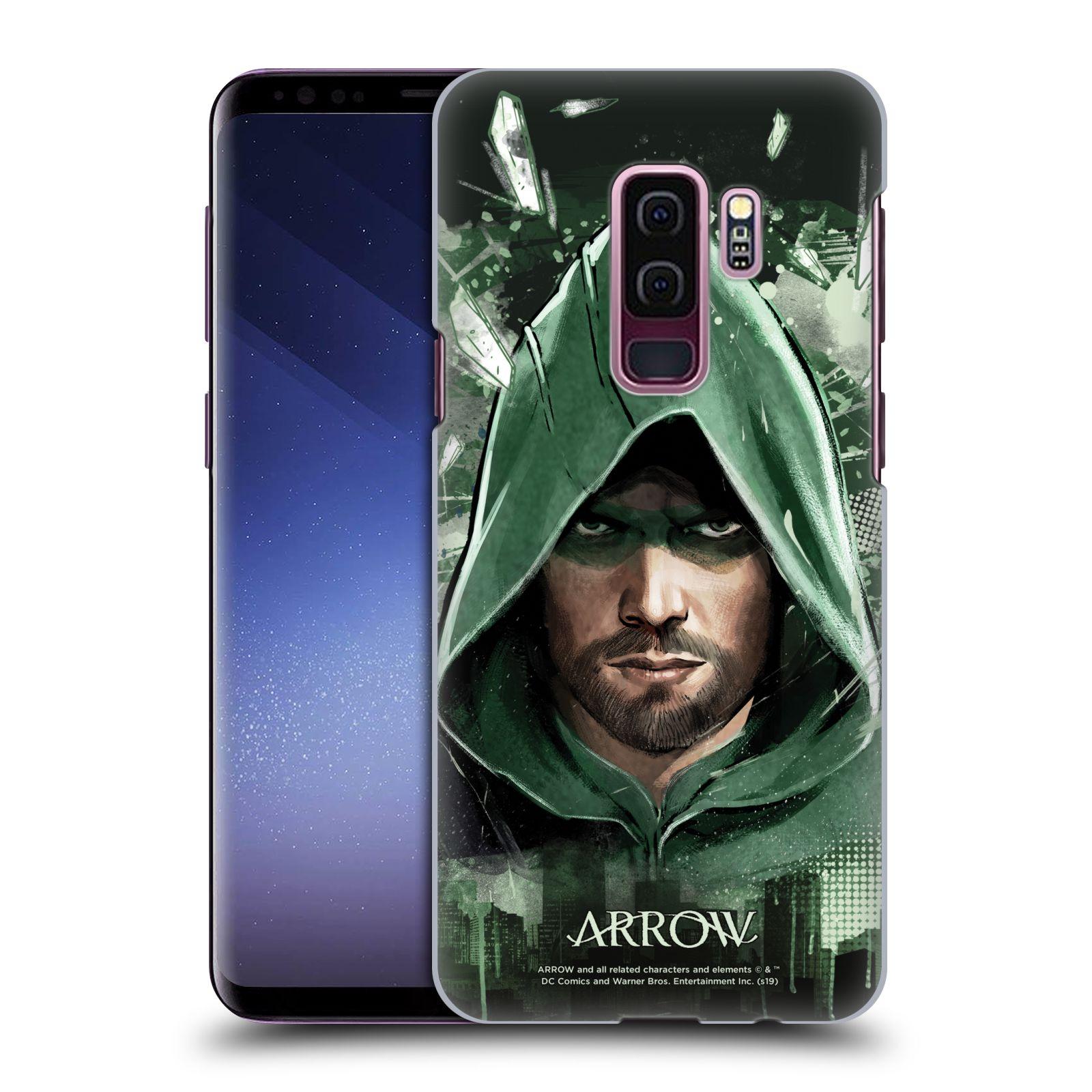 Pouzdro na mobil Samsung Galaxy S9+ / S9 PLUS - HEAD CASE - Seriál Arrow - kreslený motiv