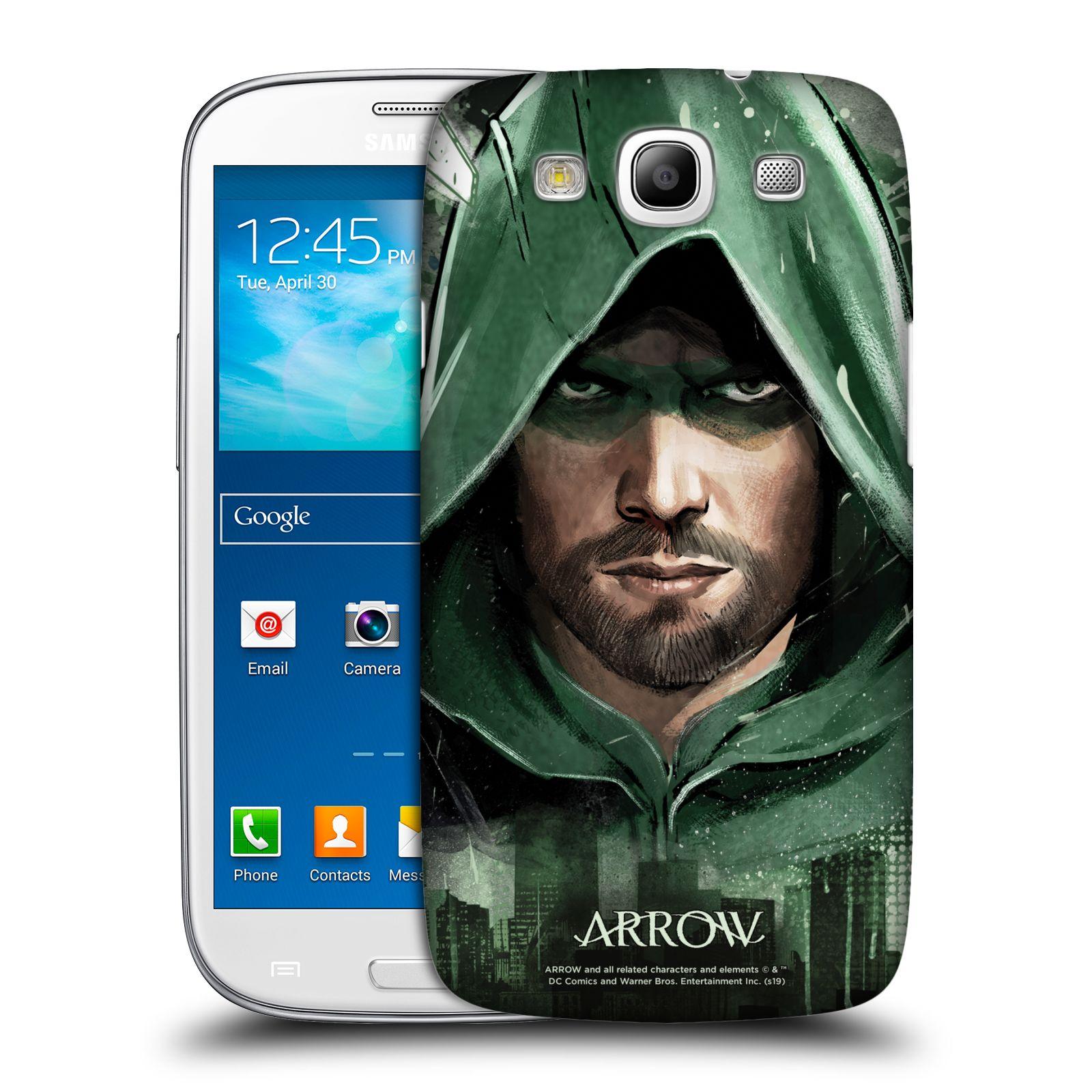 Pouzdro na mobil Samsung Galaxy S3 - HEAD CASE - Seriál Arrow - kreslený motiv