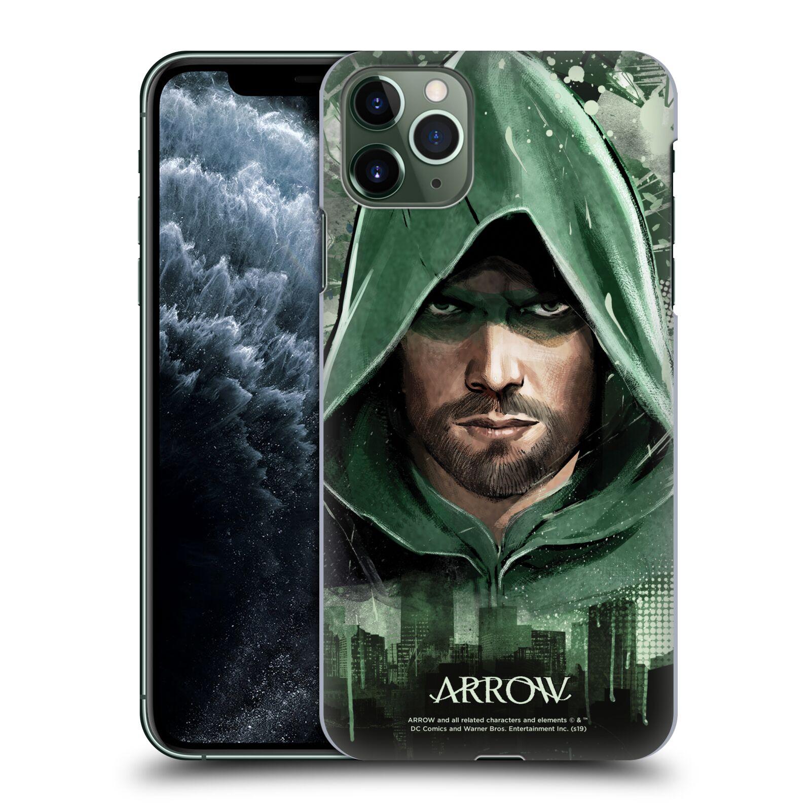Pouzdro na mobil Apple Iphone 11 PRO MAX - HEAD CASE - Seriál Arrow - kreslený motiv