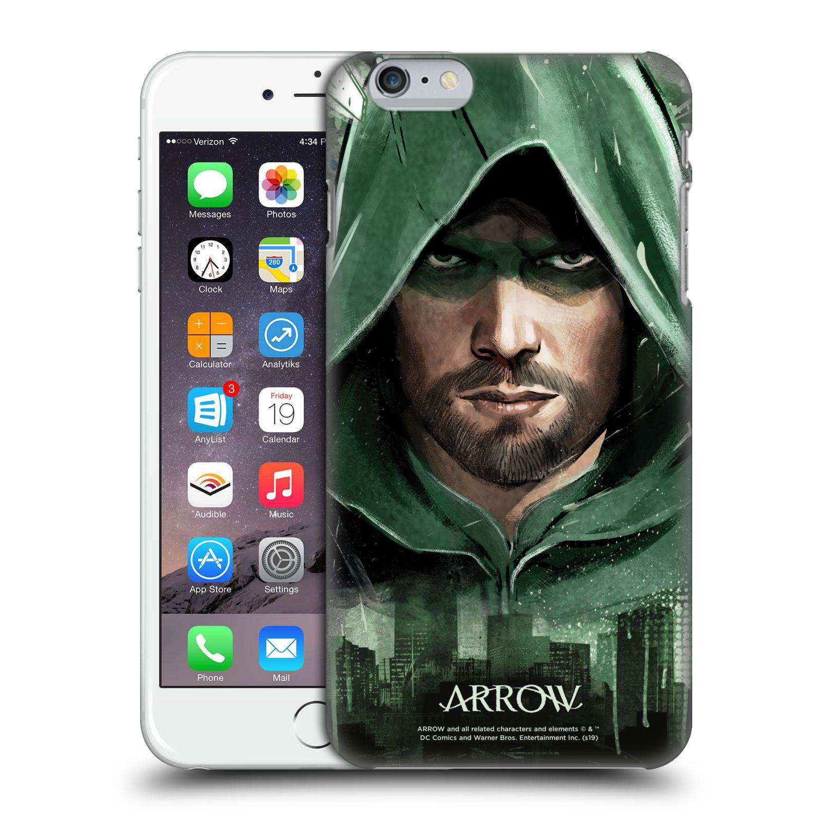 Pouzdro na mobil Apple Iphone 6/6S PLUS - HEAD CASE - Seriál Arrow - kreslený motiv