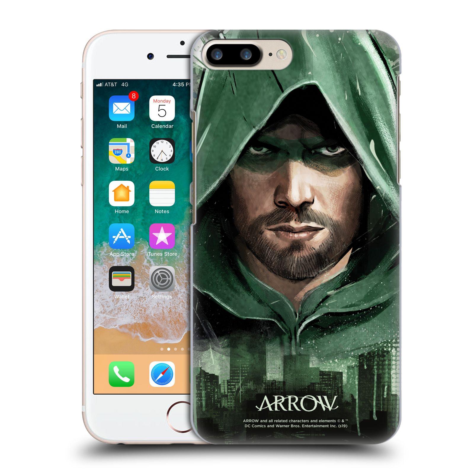 Pouzdro na mobil Apple Iphone 7/8 PLUS - HEAD CASE - Seriál Arrow - kreslený motiv