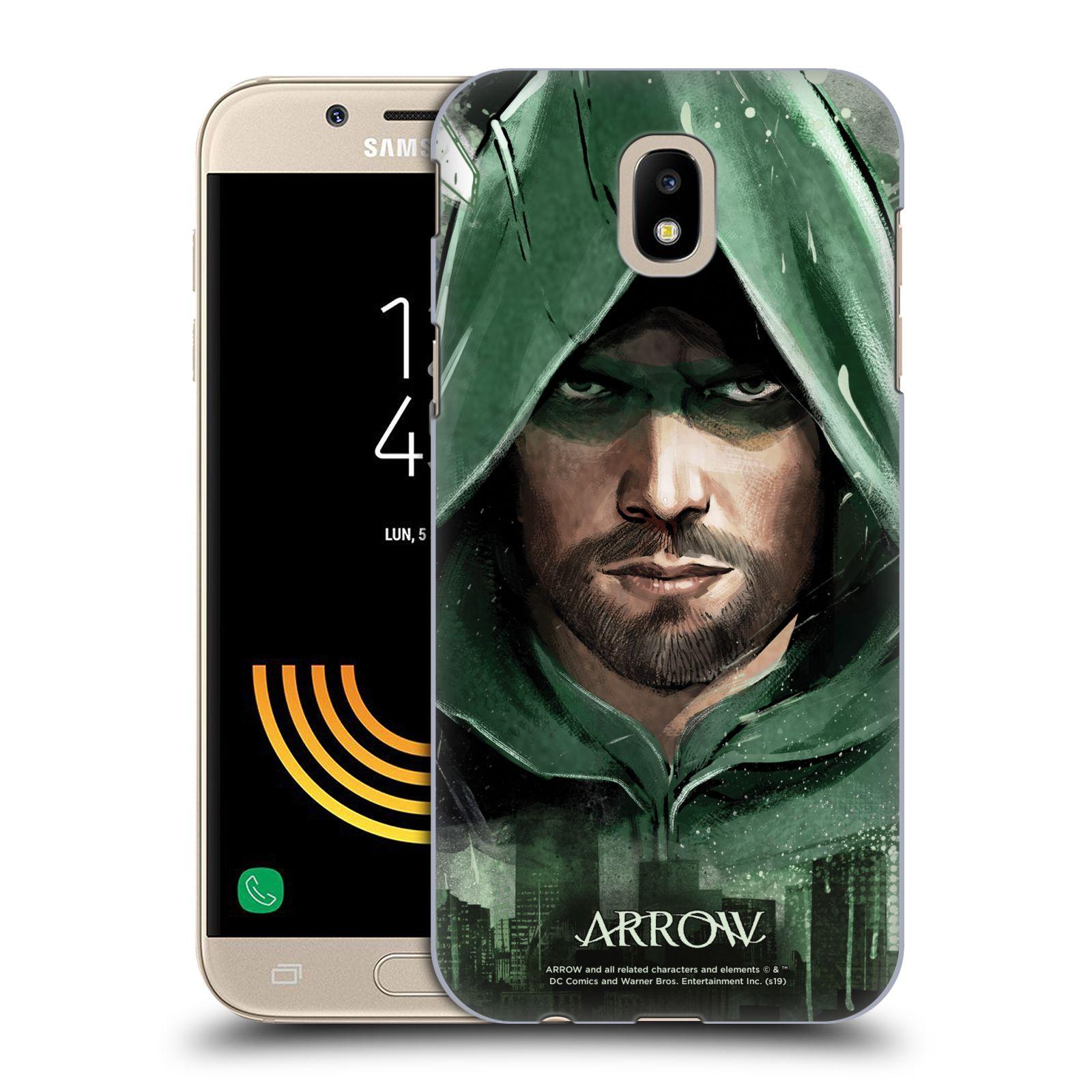 Pouzdro na mobil Samsung Galaxy J5 2017 - HEAD CASE - Seriál Arrow - kreslený motiv