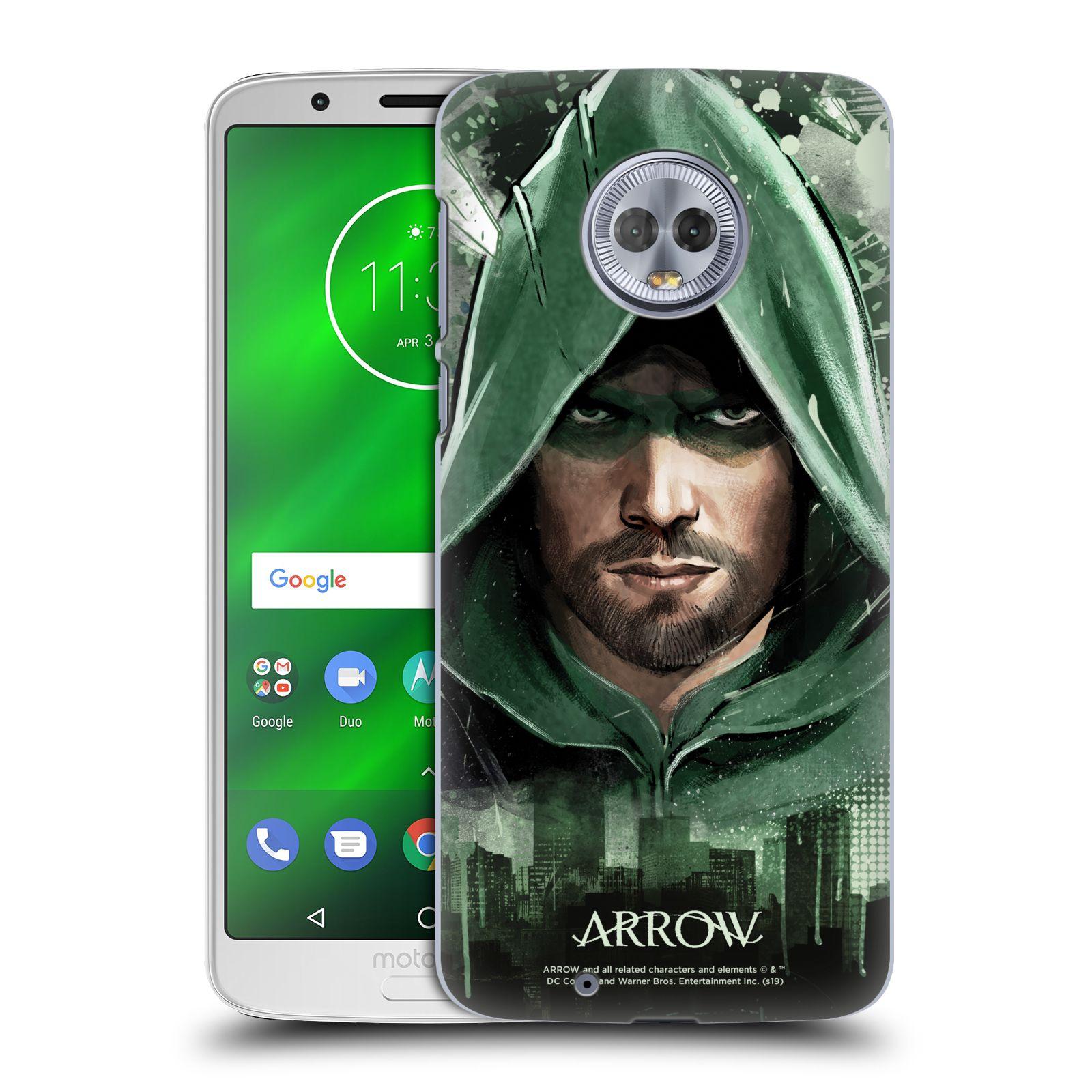 Pouzdro na mobil Motorola Moto G6 - HEAD CASE - Seriál Arrow - kreslený motiv