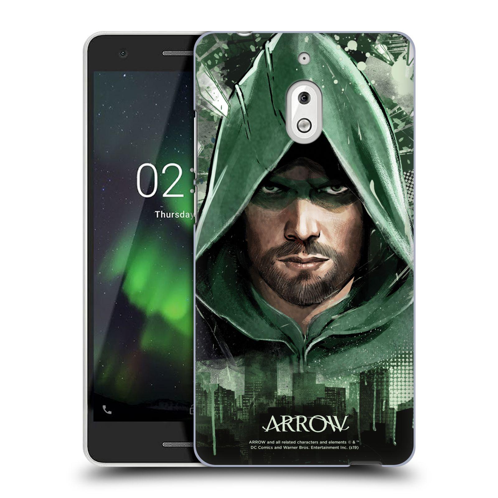 Pouzdro na mobil Nokia 2.1 - HEAD CASE - Seriál Arrow - kreslený motiv