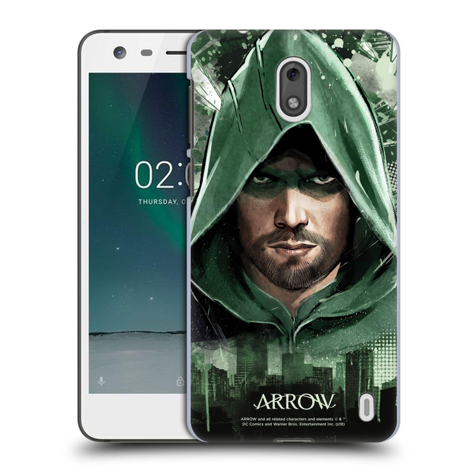 Pouzdro na mobil Nokia 2 - HEAD CASE - Seriál Arrow - kreslený motiv