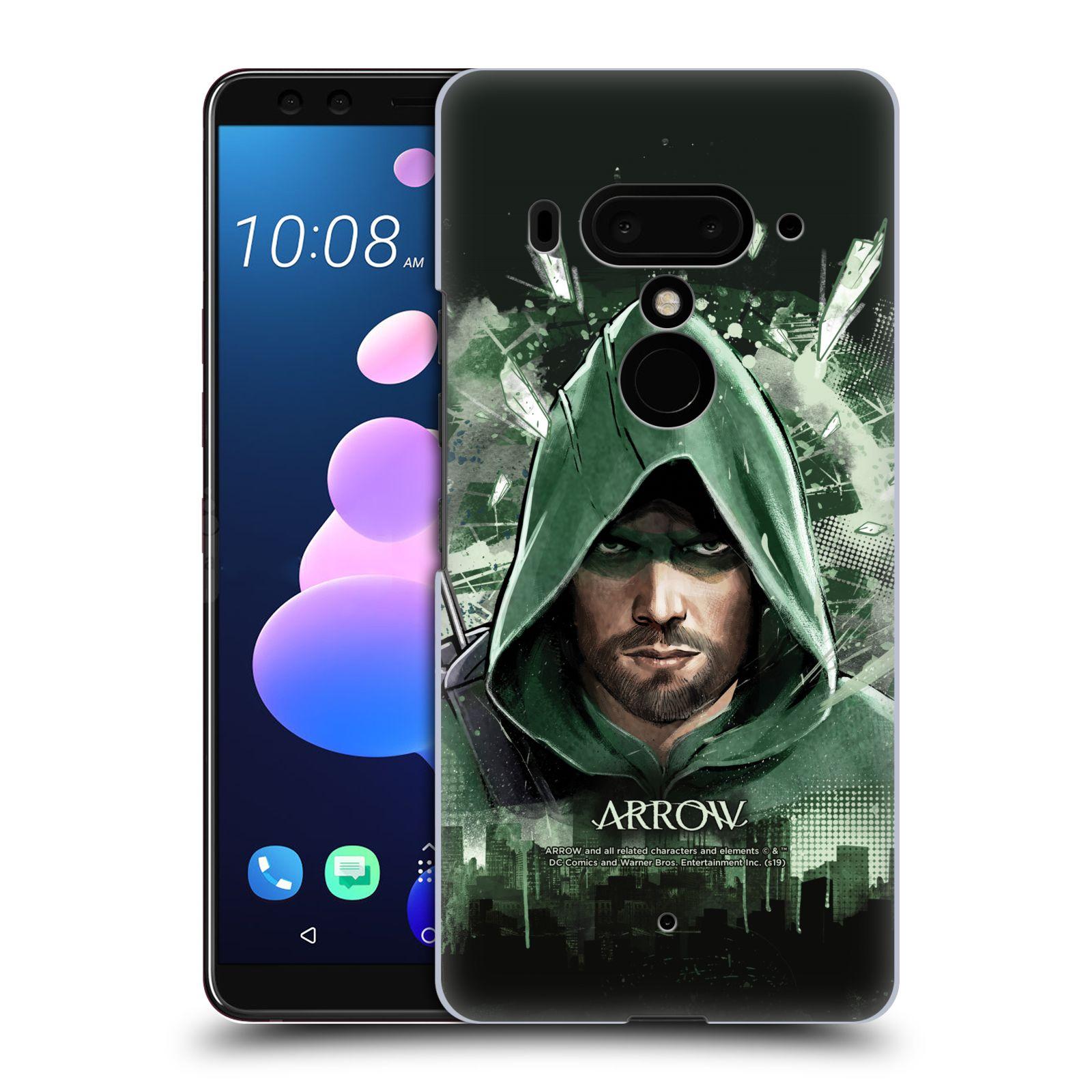 Pouzdro na mobil HTC U 12 PLUS / U 12+ DUAL SIM - HEAD CASE - Seriál Arrow - kreslený motiv