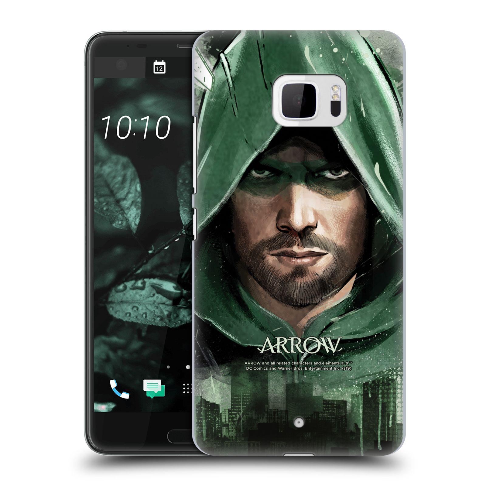 Pouzdro na mobil HTC U Ultra - HEAD CASE - Seriál Arrow - kreslený motiv