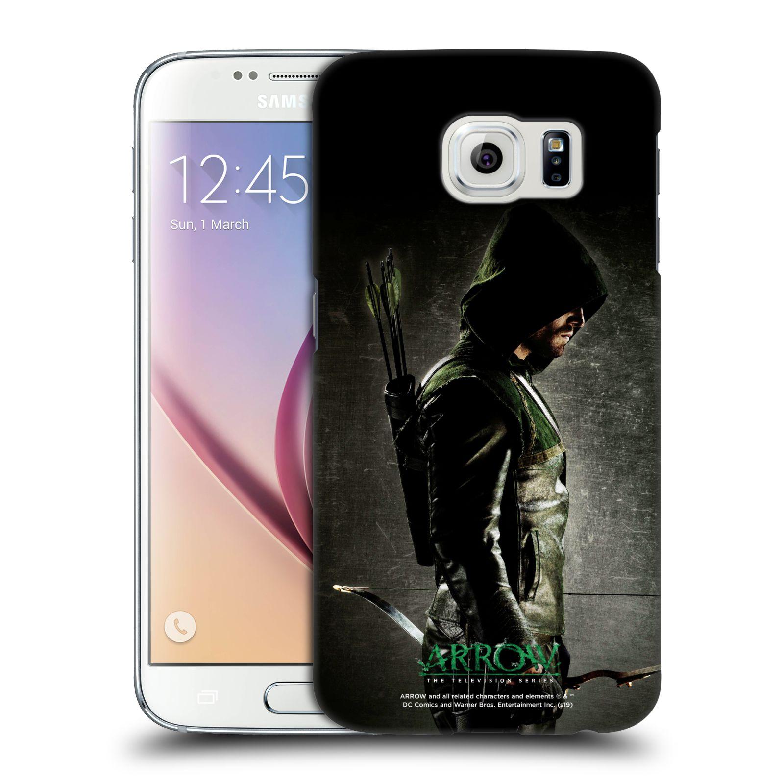 Pouzdro na mobil Samsung Galaxy S6 - HEAD CASE - Seriál Arrow - ve stínu