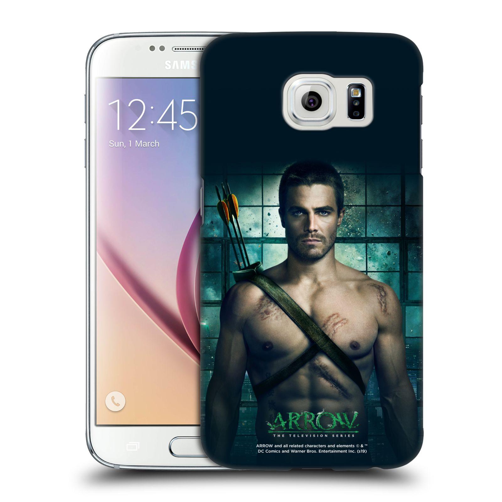 Pouzdro na mobil Samsung Galaxy S6 - HEAD CASE - Seriál Arrow -Oliver Queen
