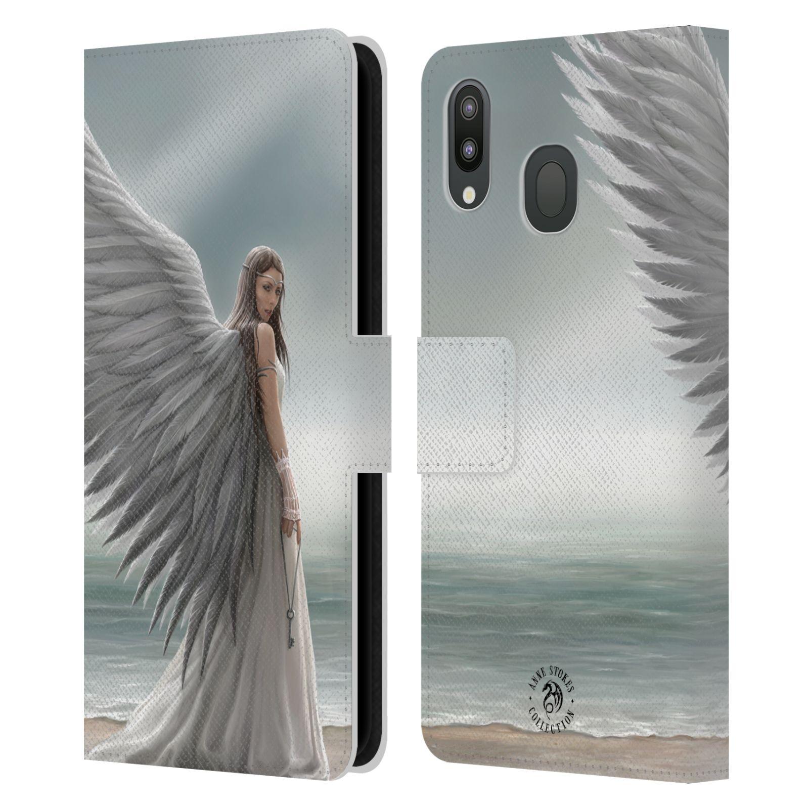 Pouzdro na mobil Samsung Galaxy M20 - Head Case - fantasy - anděl na pláži