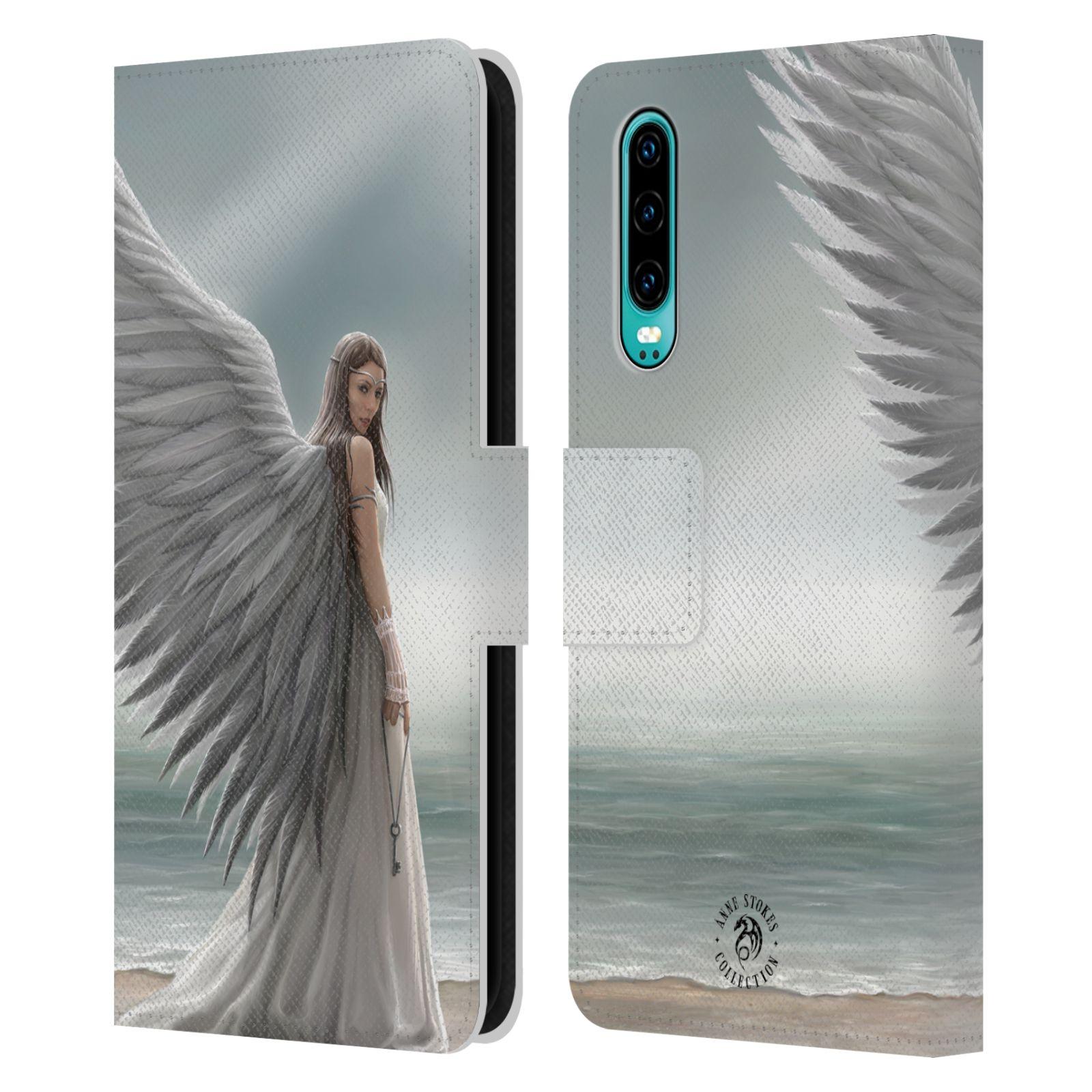 Pouzdro na mobil Huawei P30 - Head Case - fantasy - anděl na pláži