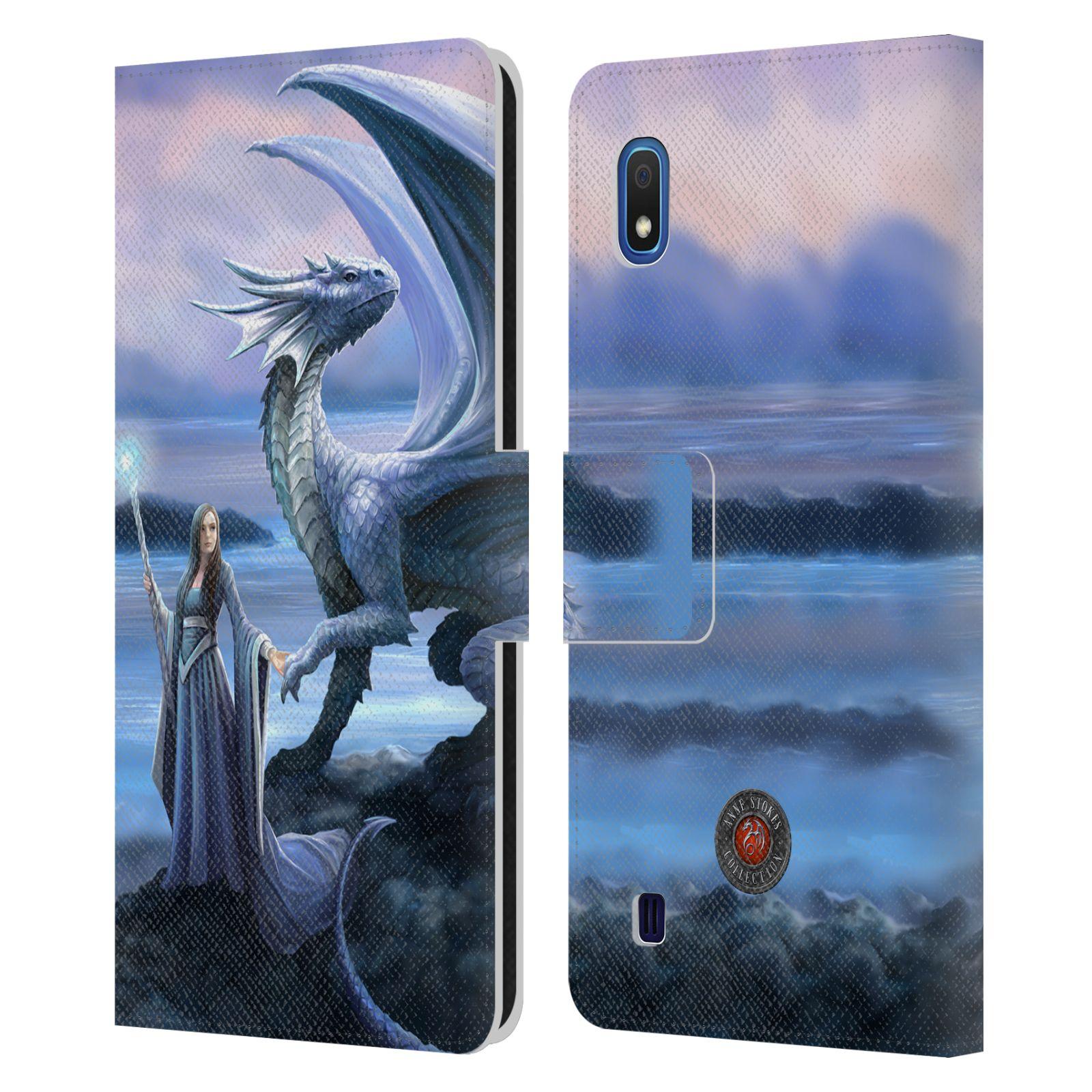 Pouzdro na mobil Samsung Galaxy A10 - Head Case - fantasy - žena s drakem horizont