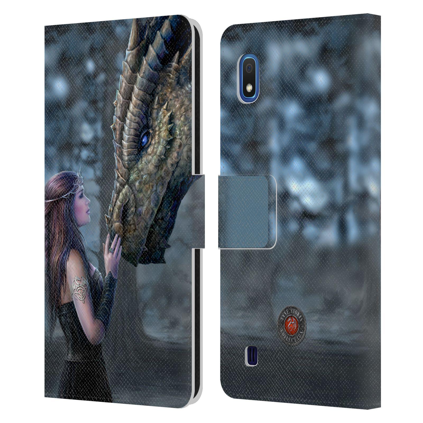 Pouzdro na mobil Samsung Galaxy A10 - Head Case - fantasy - žena dračí pohled