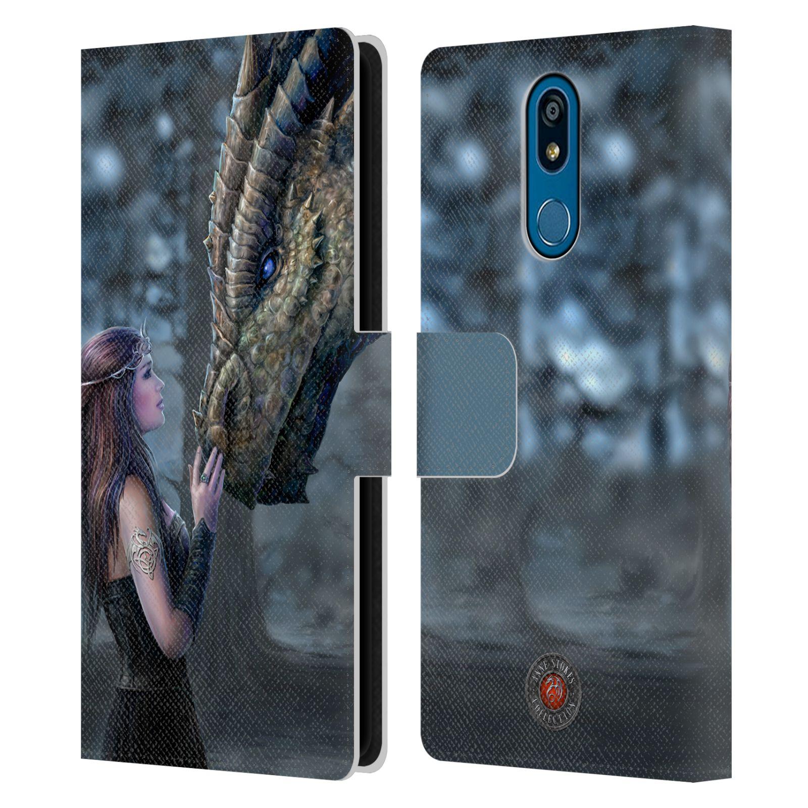 Pouzdro na mobil LG K40 - Head Case - fantasy - žena dračí pohled