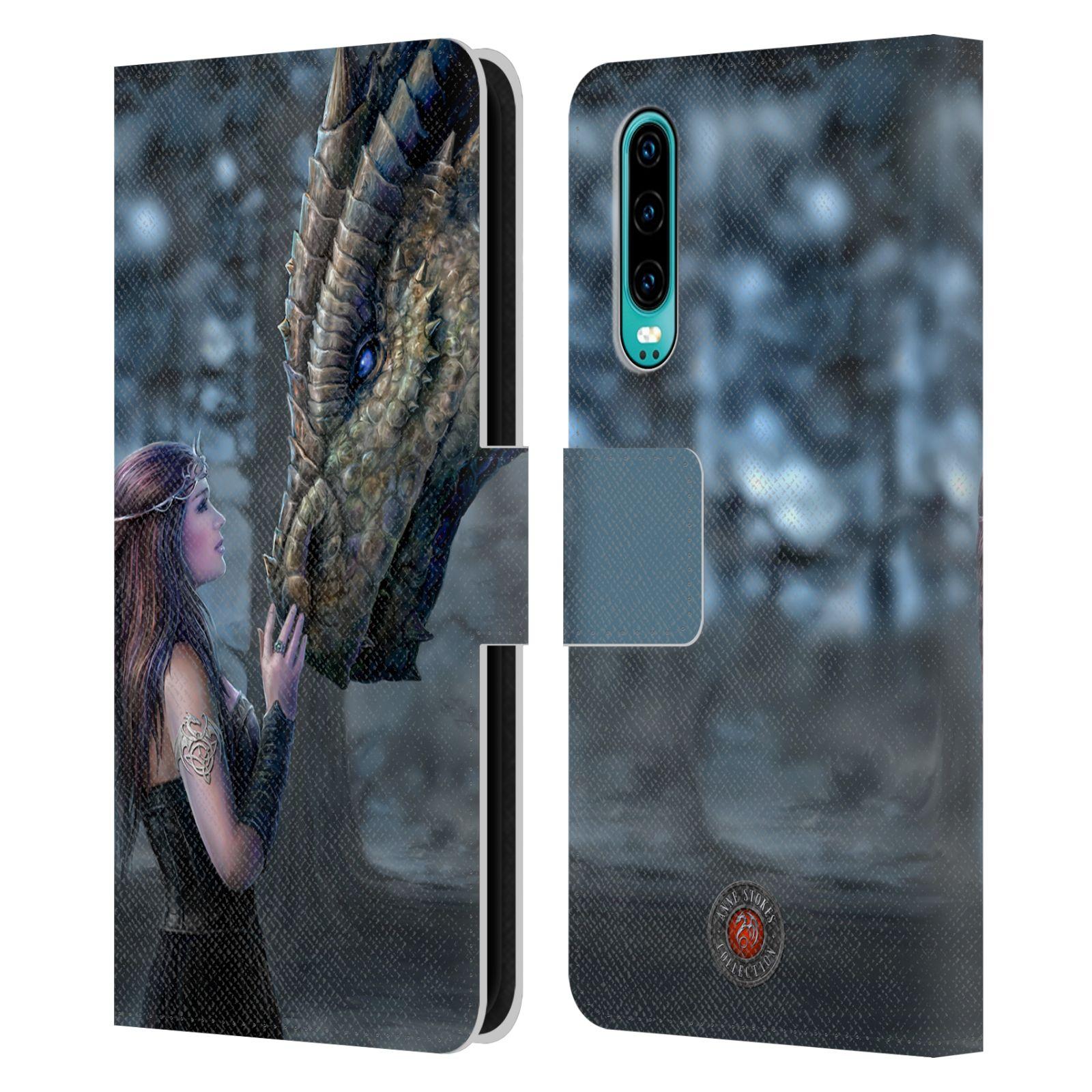 Pouzdro na mobil Huawei P30 - Head Case - fantasy - žena dračí pohled