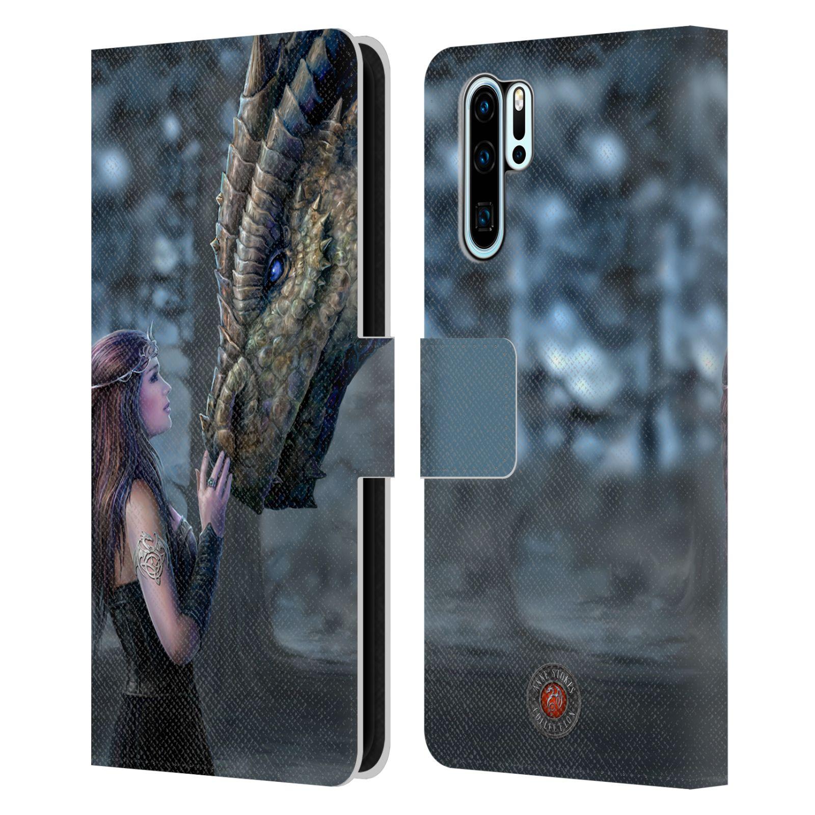 Pouzdro na mobil Huawei P30 PRO - Head Case - fantasy - žena dračí pohled