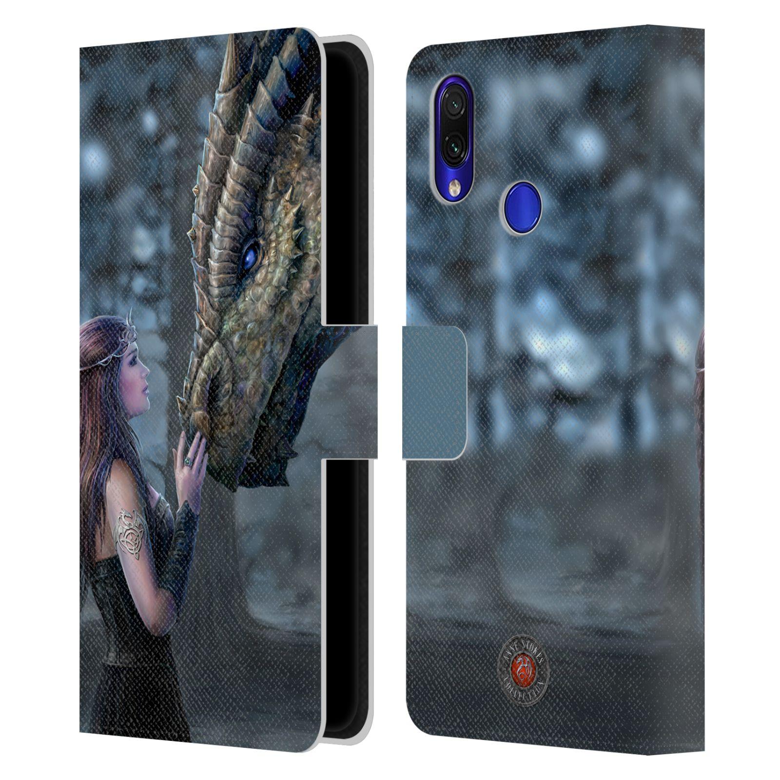 Pouzdro na mobil Xiaomi Redmi Note 7 / Note 7 PRO - Head Case - fantasy - žena dračí pohled