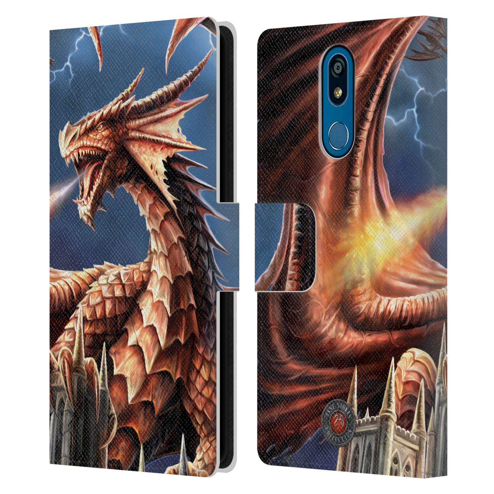 Pouzdro na mobil LG K40 - Head Case - fantasy - chrlící drak