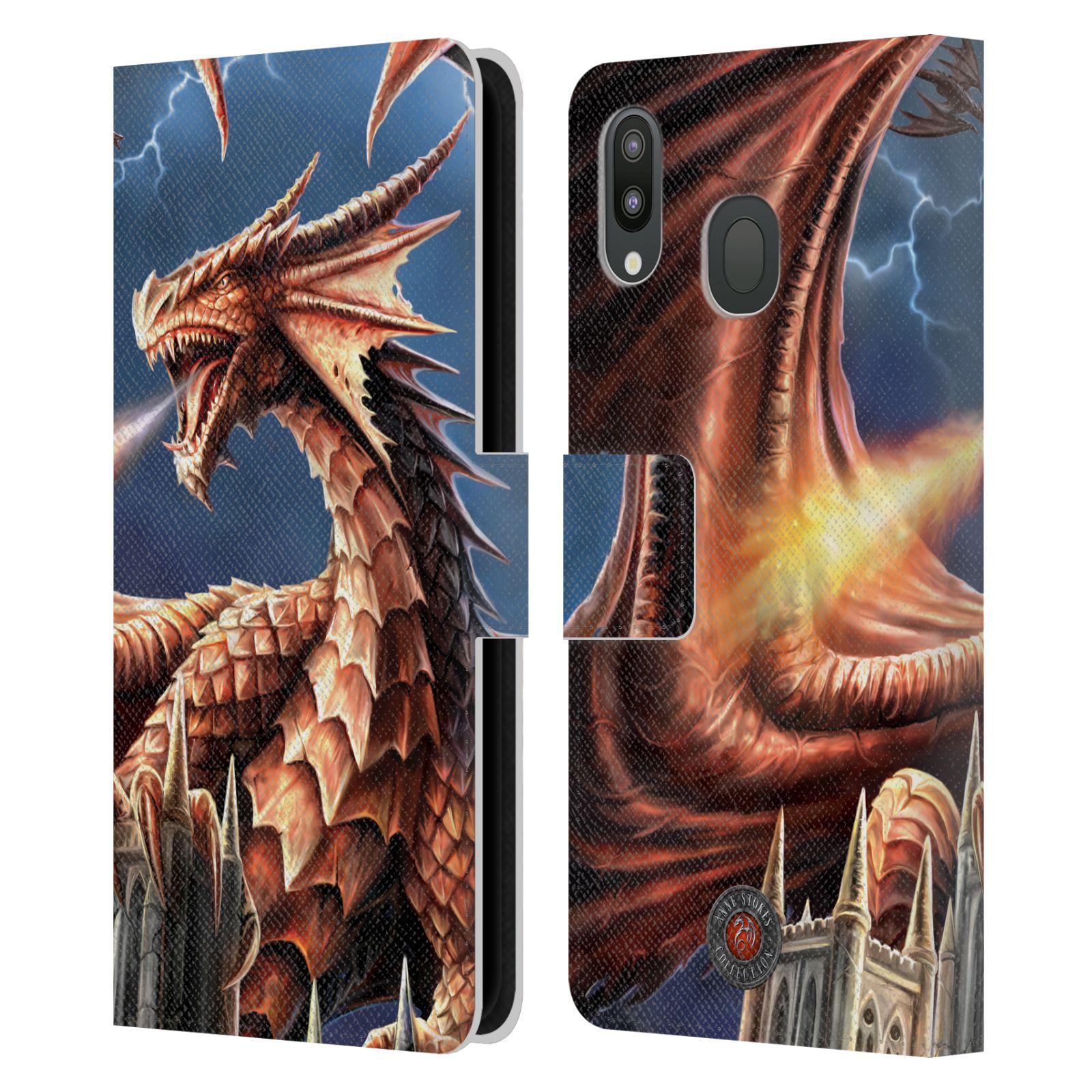 Pouzdro na mobil Samsung Galaxy M20 - Head Case - fantasy - chrlící drak