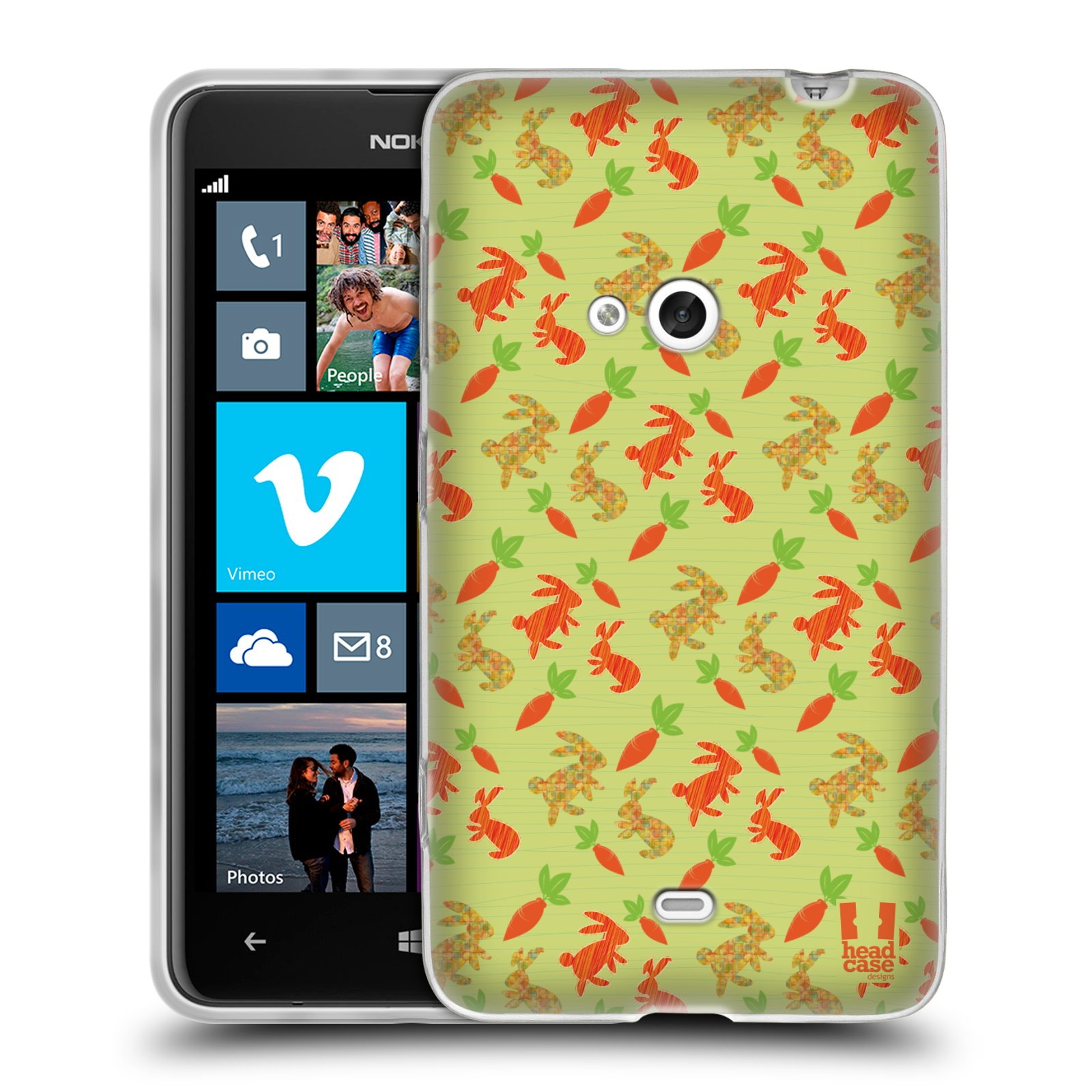 HEAD CASE ANIMAL PATTERN GEL SKIN BACK CASE COVER FOR NOKIA LUMIA 625