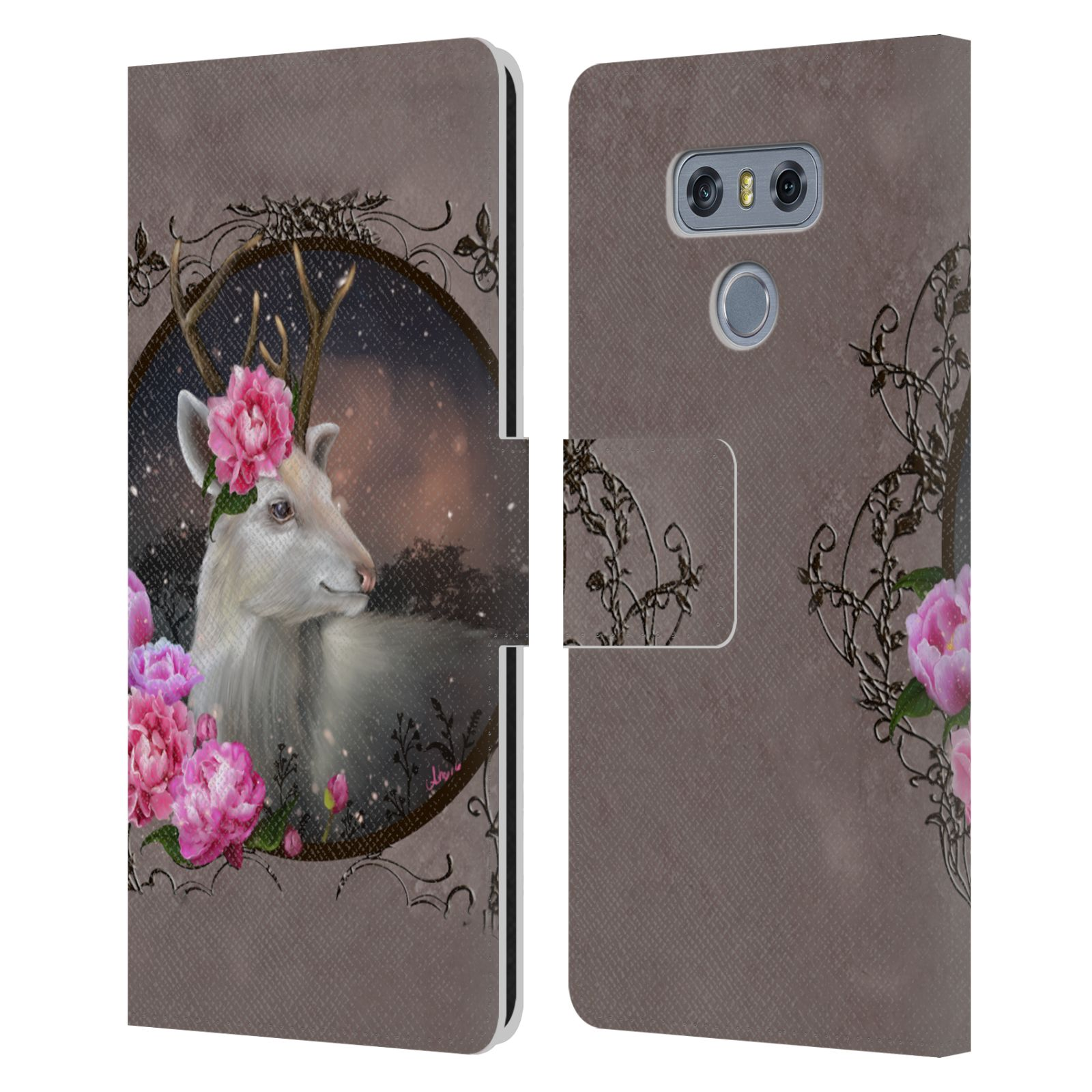 OFFICIAL-ASH-EVANS-ANIMALS-LEATHER-BOOK-WALLET-CASE-COVER-FOR-LG-PHONES-1