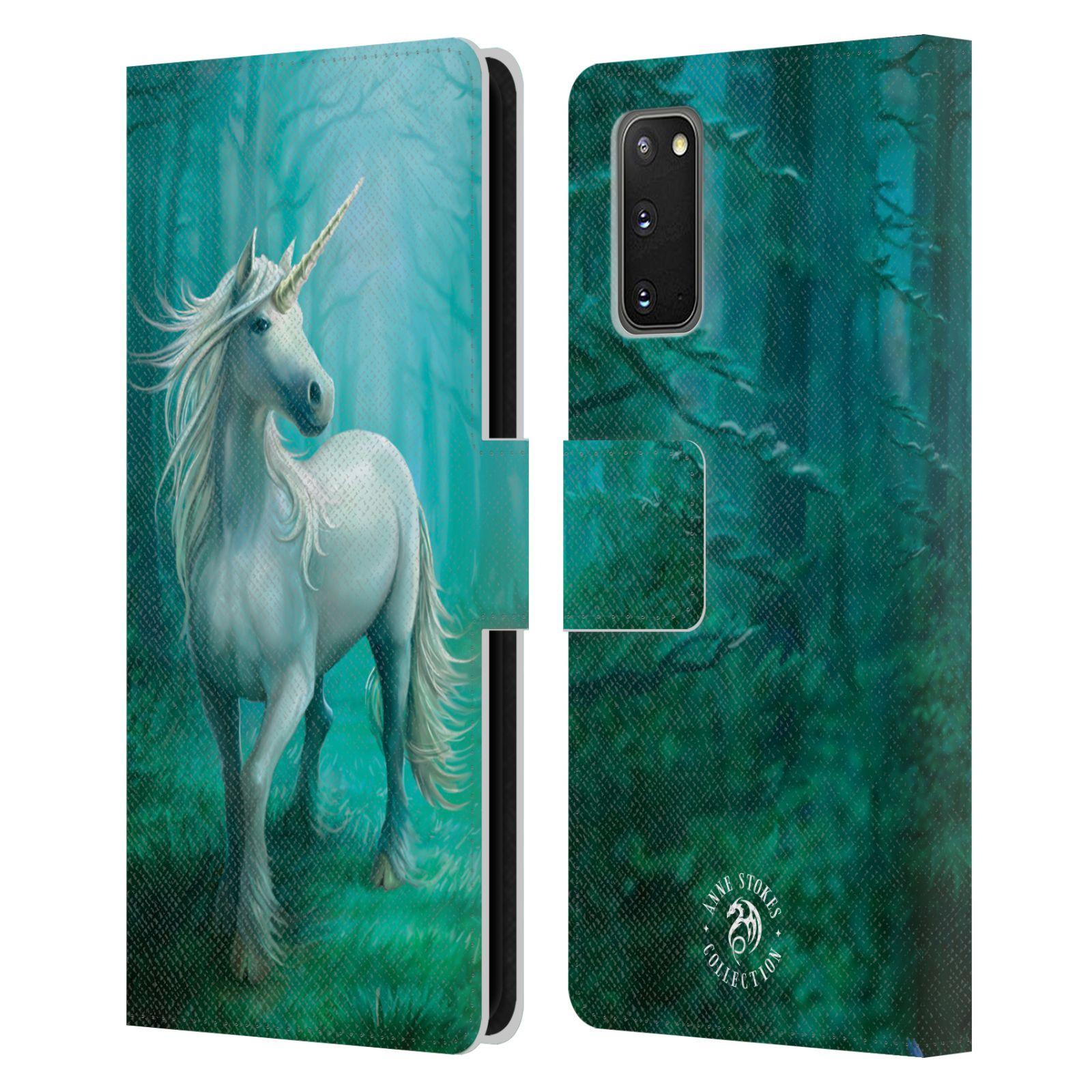 Pouzdro na mobil Samsung Galaxy S20 - Head Case - fantasy - jednorožec v lese