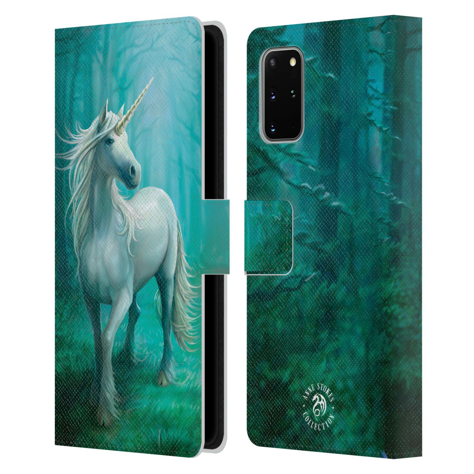Pouzdro na mobil Samsung Galaxy S20+ - Head Case - fantasy - jednorožec v lese