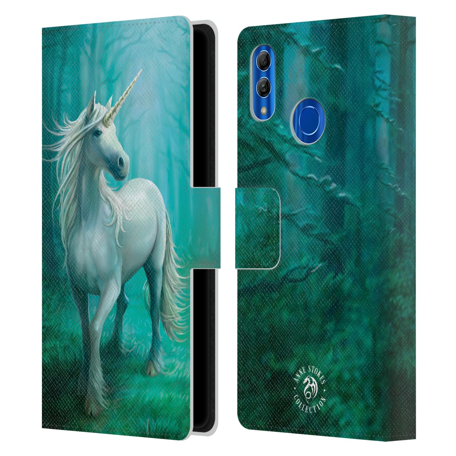 Pouzdro na mobil Honor 10 LITE - Head Case - fantasy - jednorožec v lese