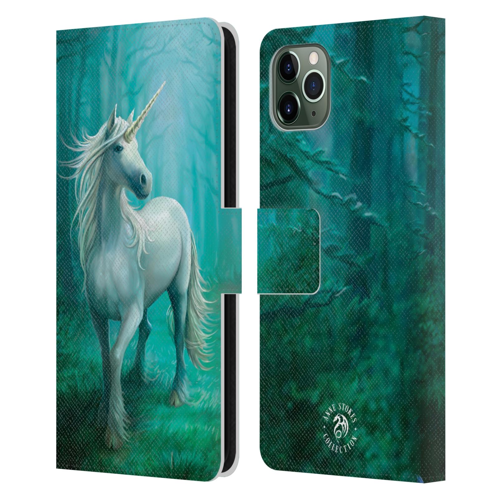 Pouzdro na mobil Apple Iphone 11 PRO MAX - Head Case - fantasy - jednorožec v lese