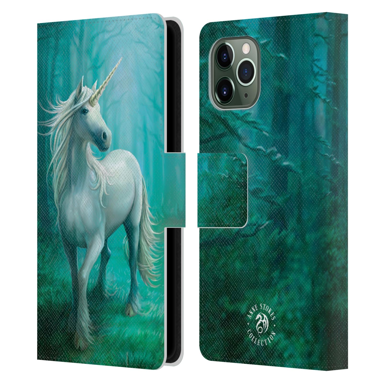 Pouzdro na mobil Apple Iphone 11 PRO - Head Case - fantasy - jednorožec v lese