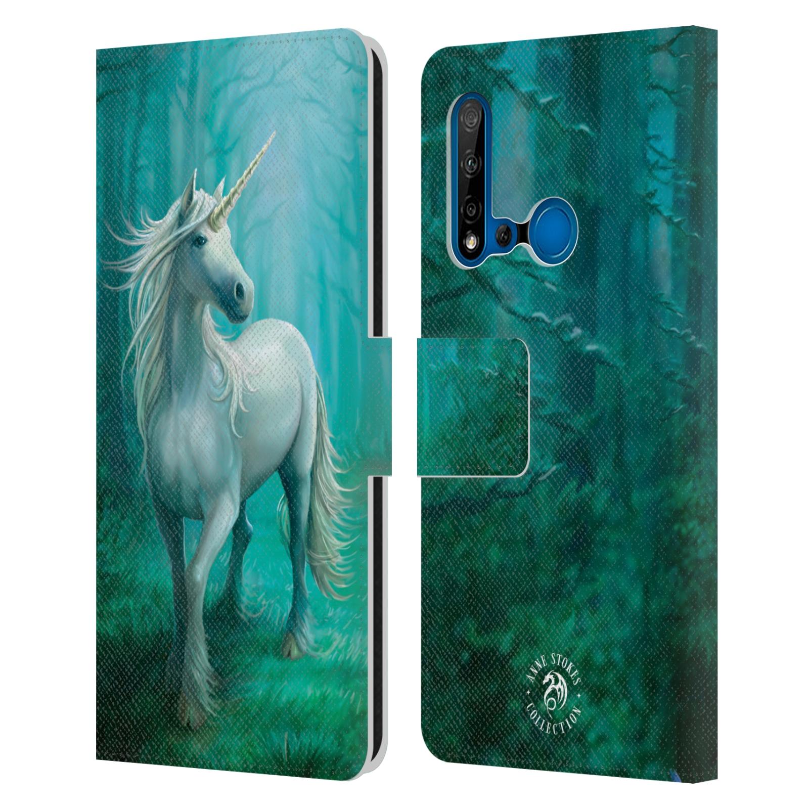 Pouzdro na mobil Huawei P20 LITE 2019 - Head Case - fantasy - jednorožec v lese