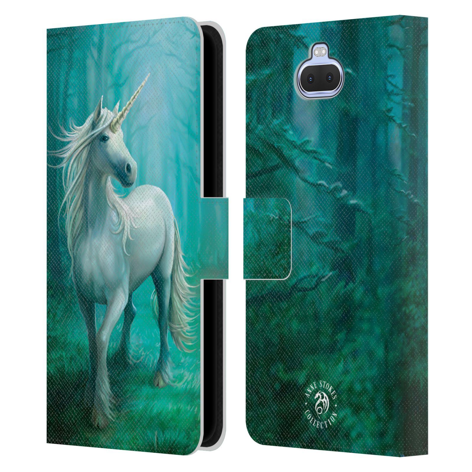 Pouzdro na mobil Sony Xperia 10 - Head Case - fantasy - jednorožec v lese