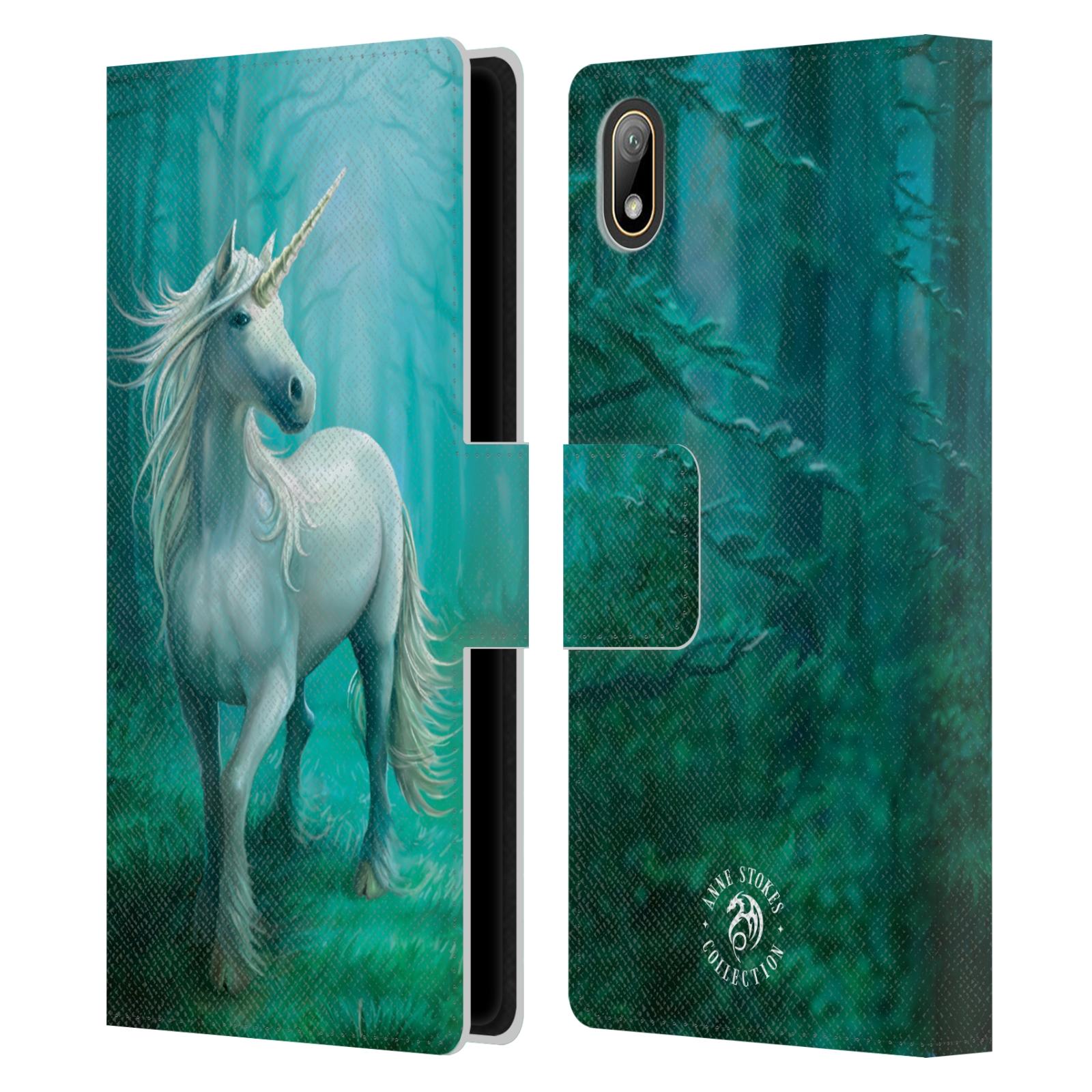Pouzdro na mobil Huawei Y5 2019 - Head Case - fantasy - jednorožec v lese