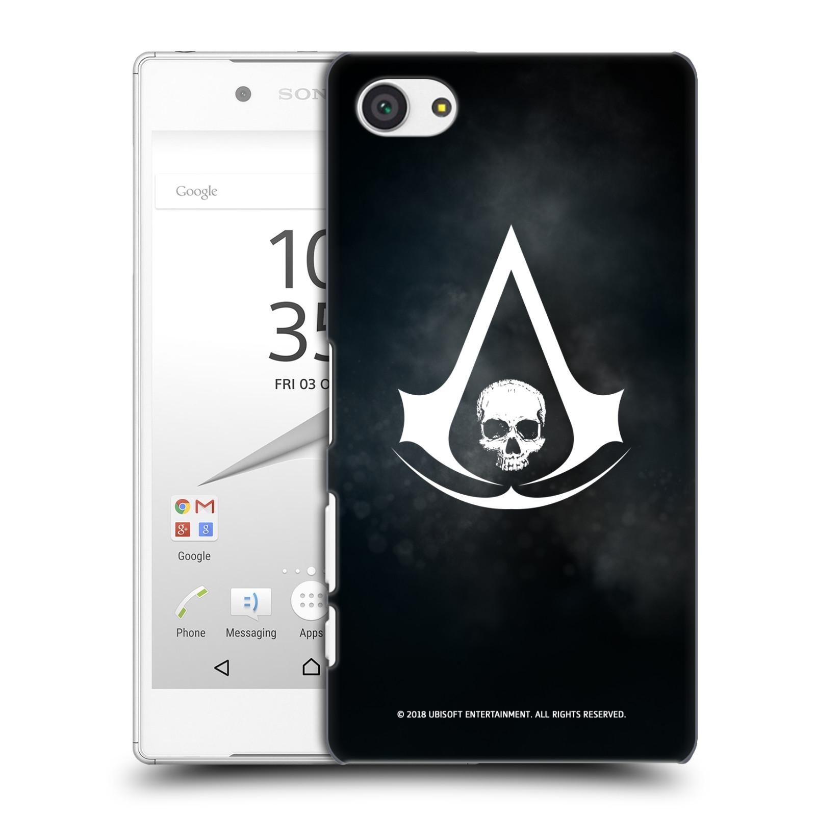 Pouzdro na mobil Sony Xperia Z5 COMPACT - HEAD CASE - Assasins Creed Black Flag - Velký znak