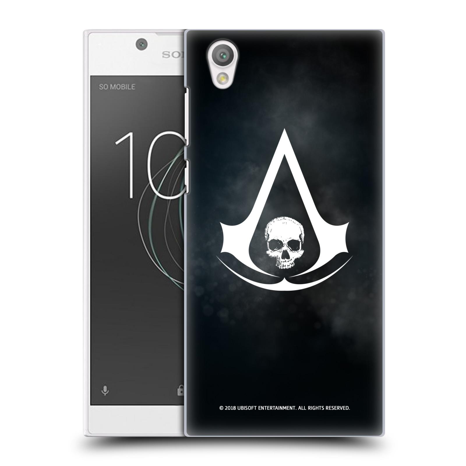 Pouzdro na mobil Sony Xperia L1 - HEAD CASE - Assasins Creed Black Flag - Velký znak