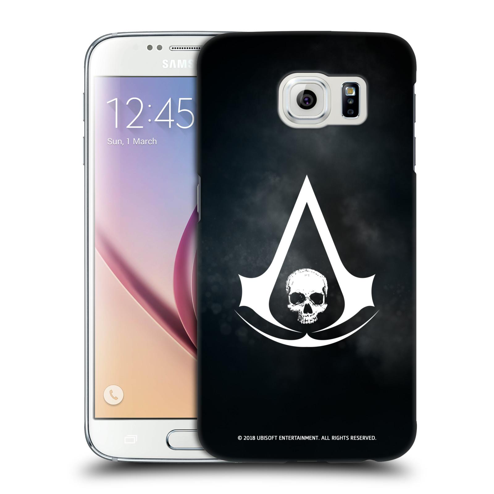 Pouzdro na mobil Samsung Galaxy S6 - HEAD CASE - Assasins Creed Black Flag - Velký znak