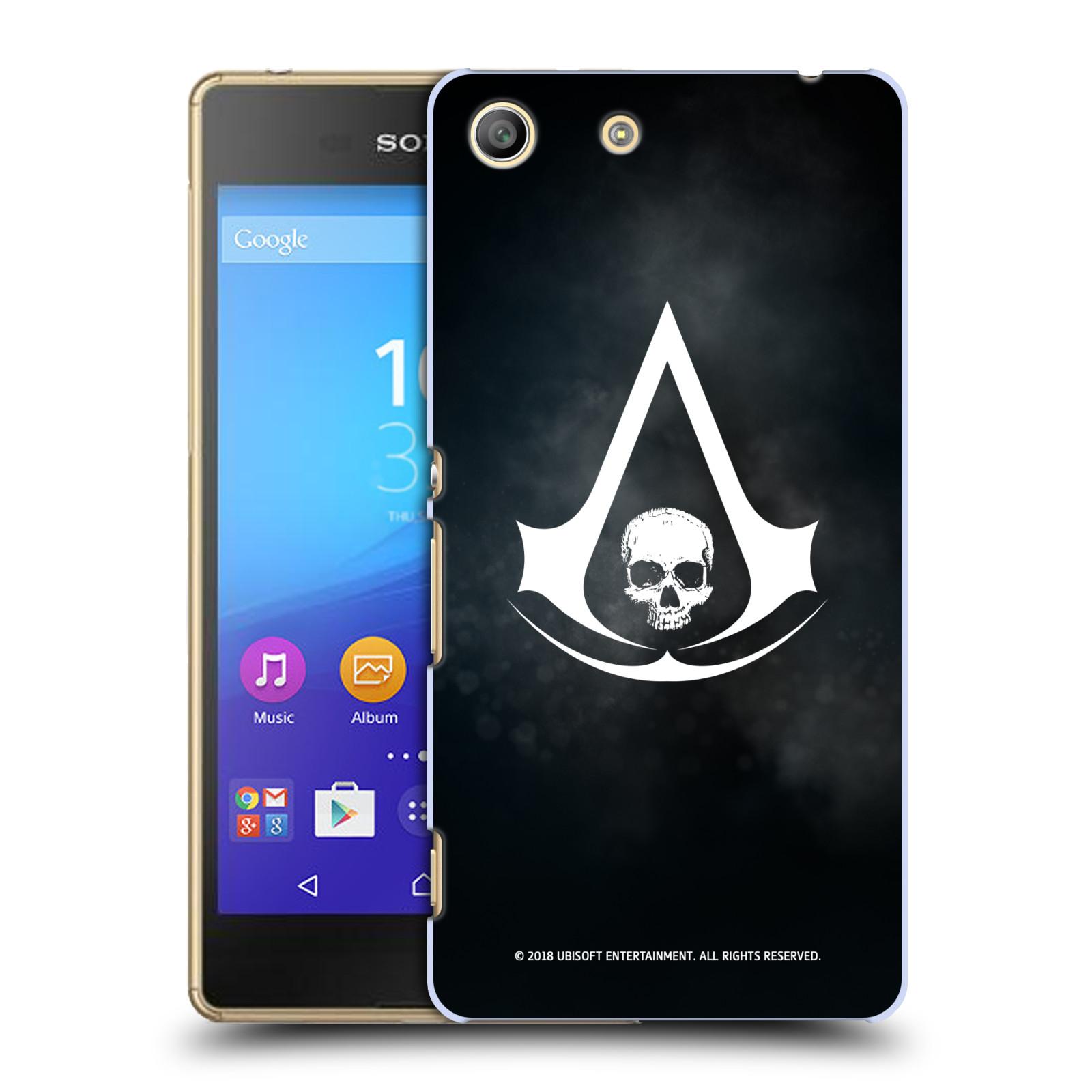 Pouzdro na mobil Sony Xperia M5 - HEAD CASE - Assasins Creed Black Flag - Velký znak