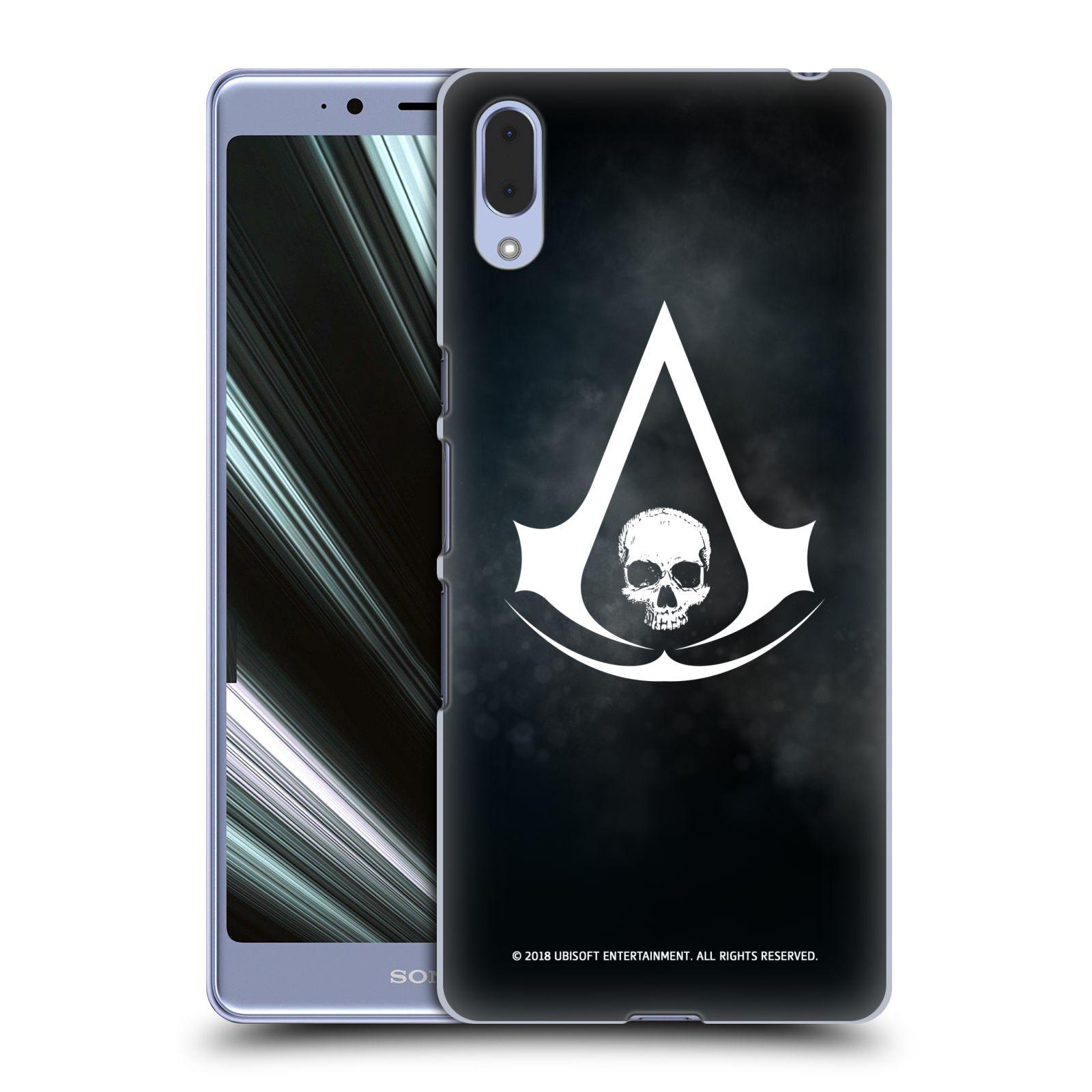 Pouzdro na mobil Sony Xperia L3 - HEAD CASE - Assasins Creed Black Flag - Velký znak