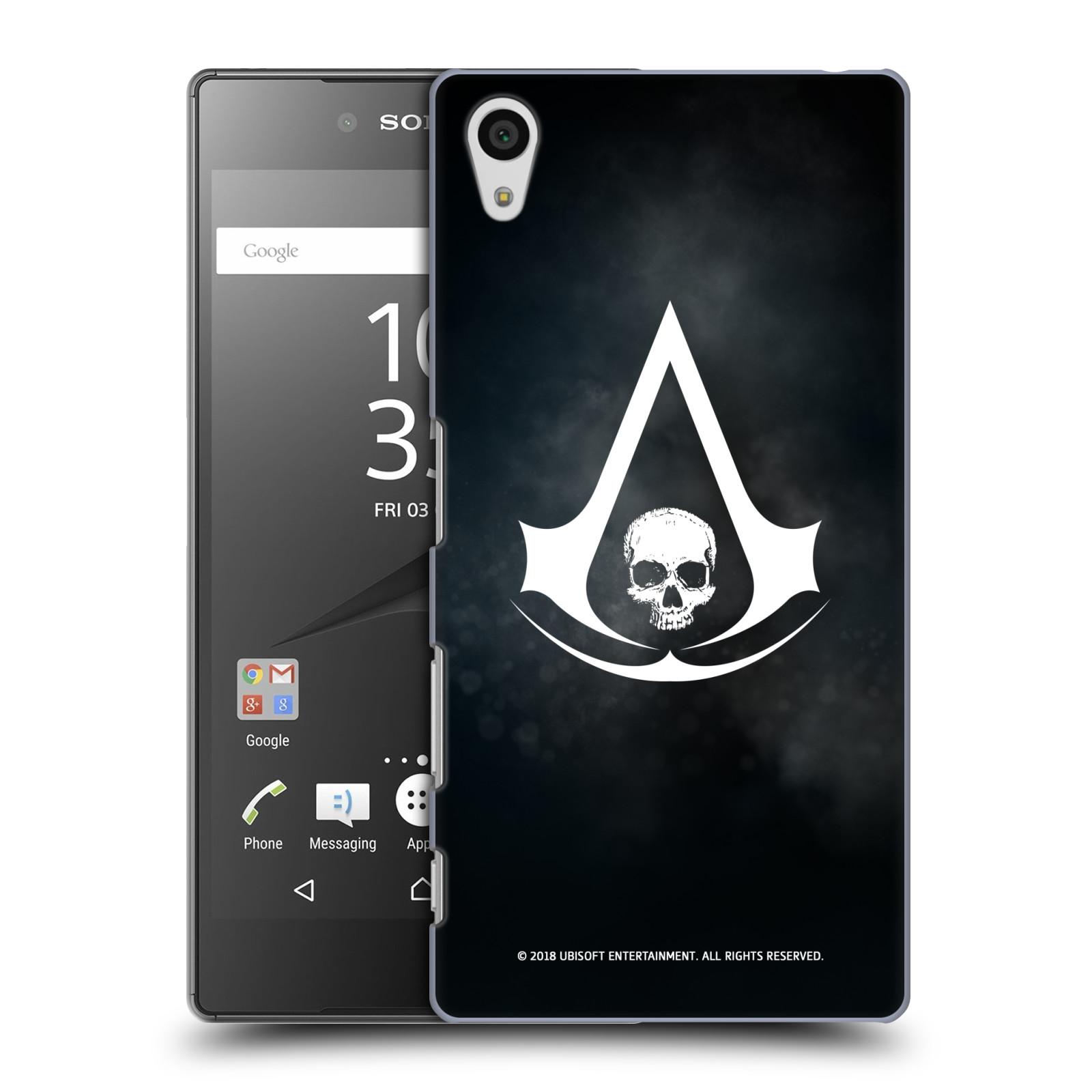 Pouzdro na mobil Sony Xperia Z5 - HEAD CASE - Assasins Creed Black Flag - Velký znak