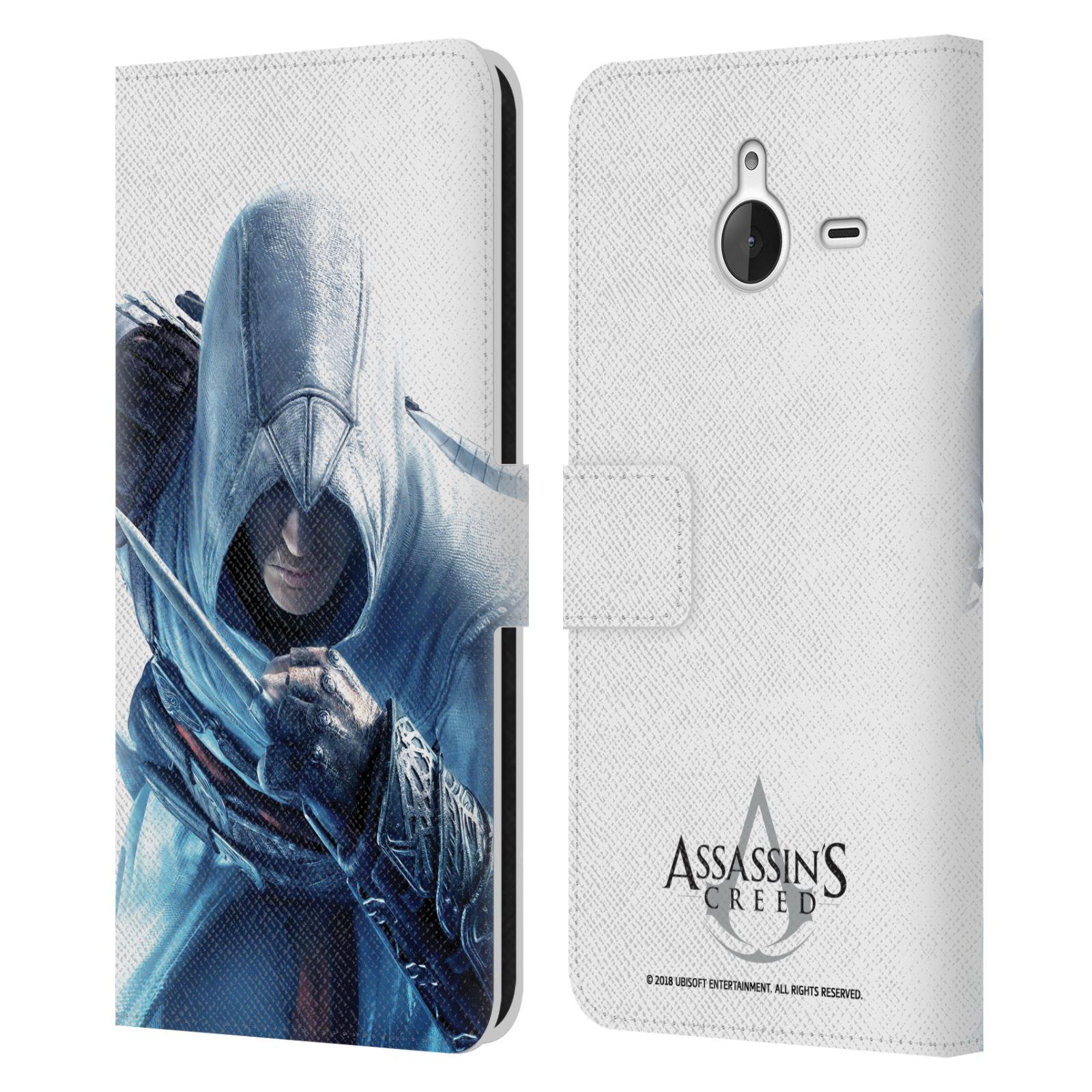 Pouzdro na mobil Nokia Lumia 640 XL - Head Case - Assasins Creed zahalený Altar