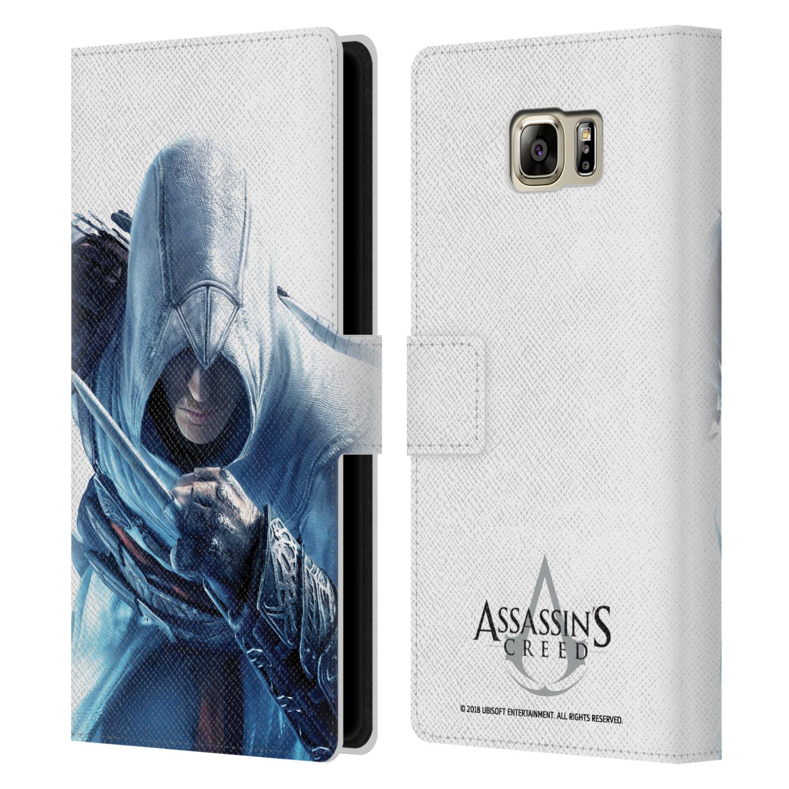 Pouzdro na mobil Samsung Galaxy NOTE 5 - Head Case - Assasins Creed zahalený Altar