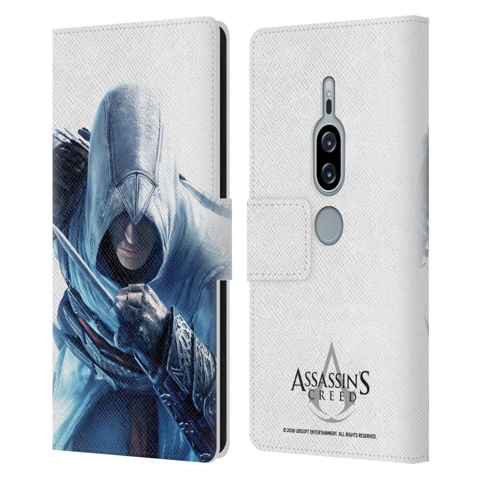 Pouzdro na mobil Sony Xperia XZ2 Premium - Head Case - Assasins Creed zahalený Altar